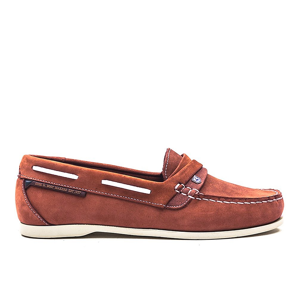Dubarry Womens Hawaii - Russet Leather