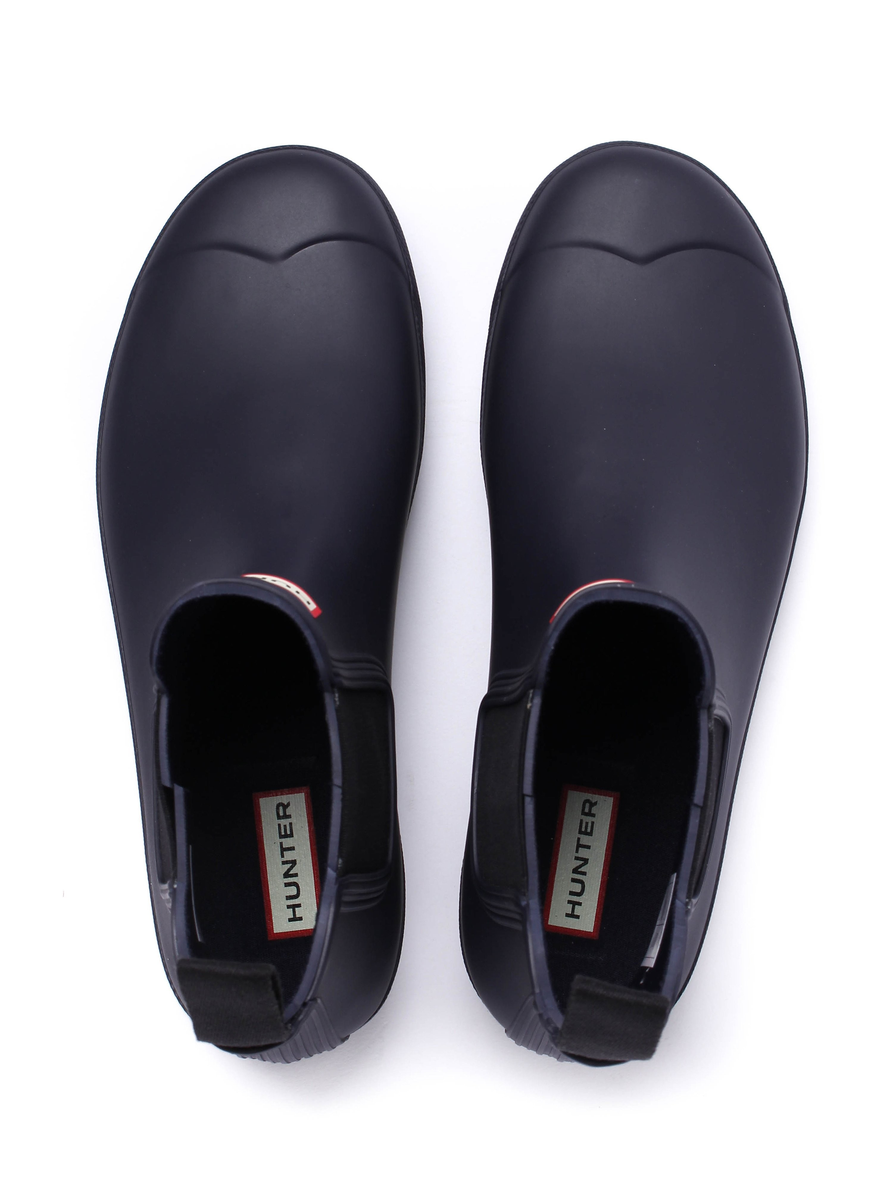 Hunter Wellies Original Dark Sole Chelsea Boots - Midnight