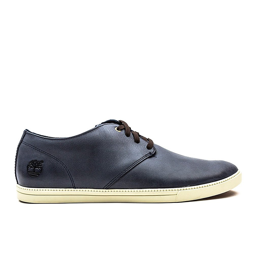 Timberland Mens Fulk LP Oxford - Navy Leather