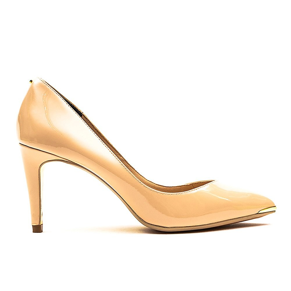 Ted Baker Women's Moniirra 3 Slip On Patent Court Shoes - Nude