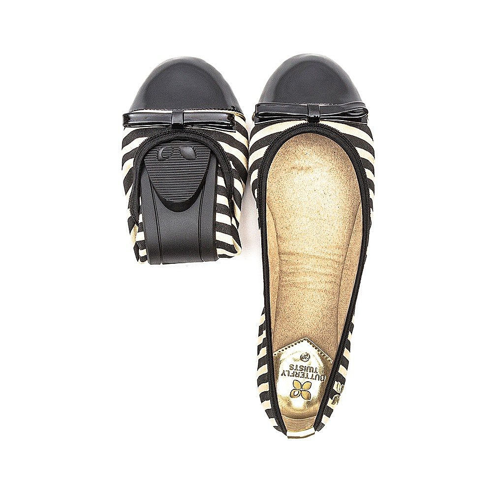 Butterfly Twists Cara Womens Black/Tan