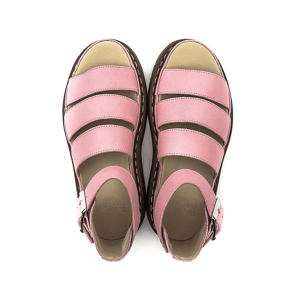 Dr Martens  Shore Clarissa Virginia Leather Sandals - Bubblegum