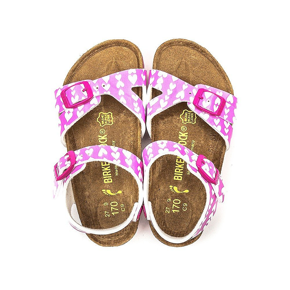 Birkenstock Rio Kids Cute Hearts