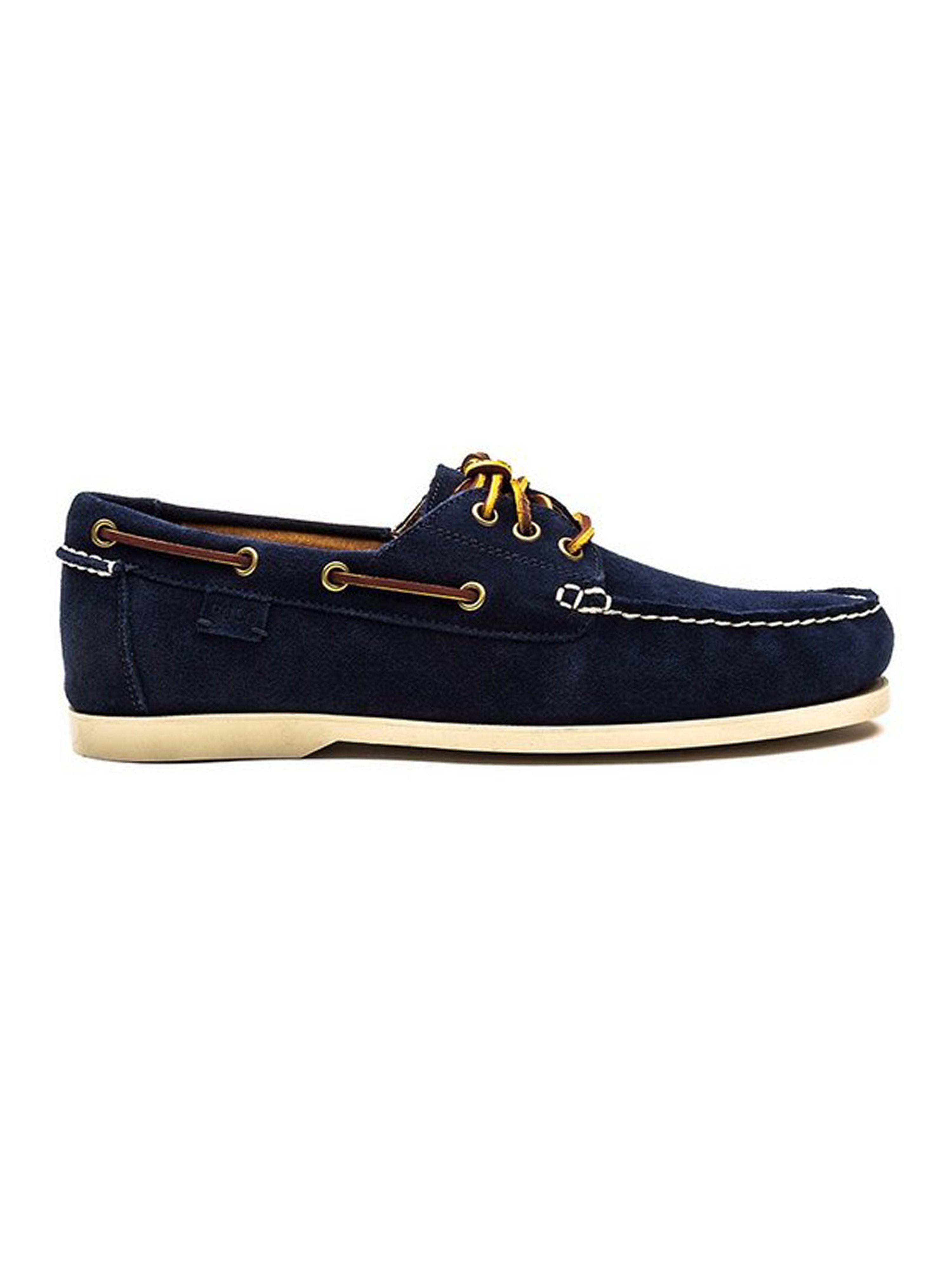 Polo Ralph Lauren Mens Bienne II Suede Shoe - Newport Navy