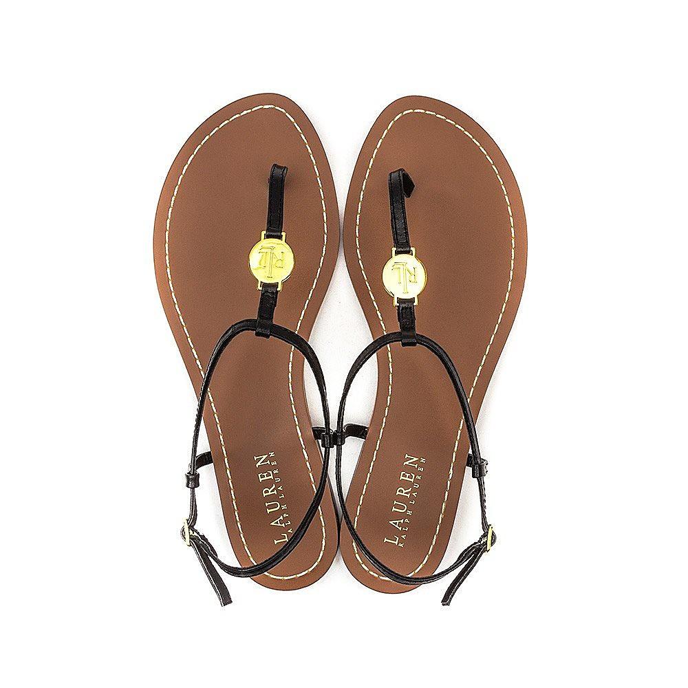 Lauren Ralph Lauren Aimon Womens Sandals - Black