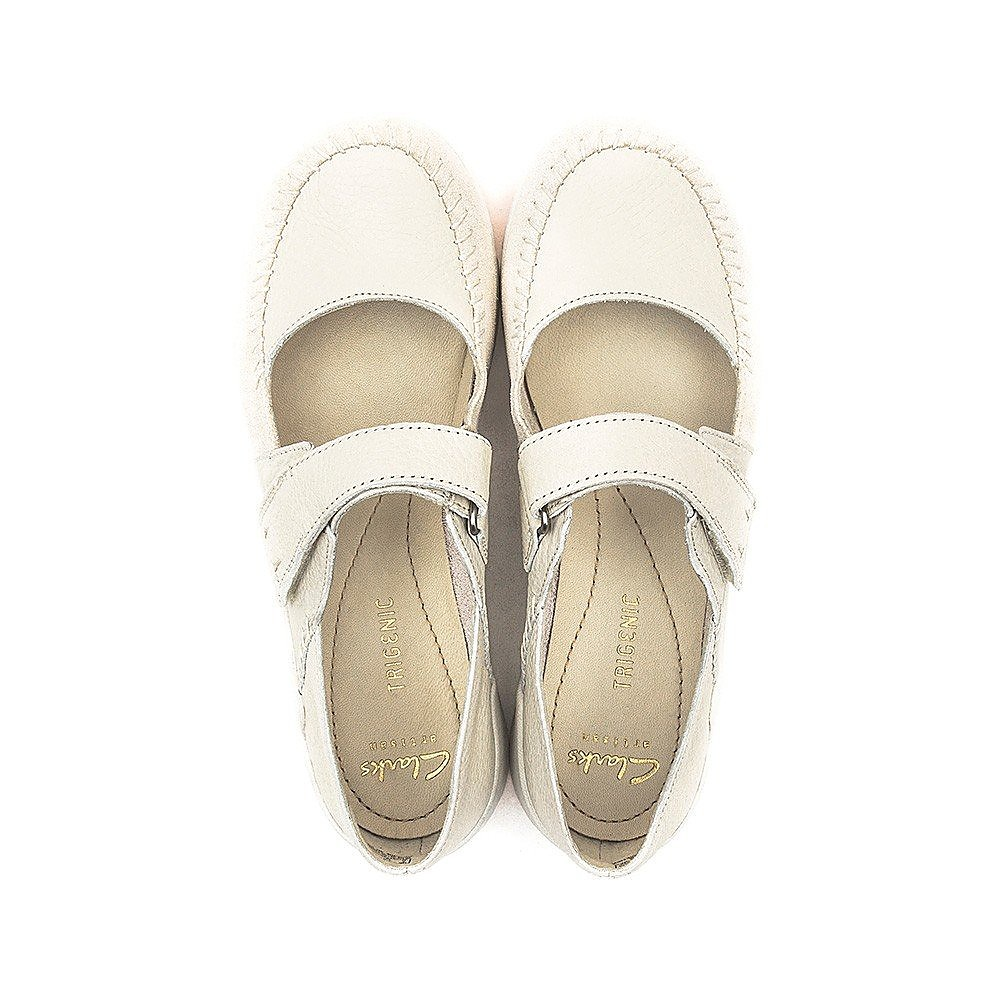 Clarks Tri Amanda - Womens - Off White