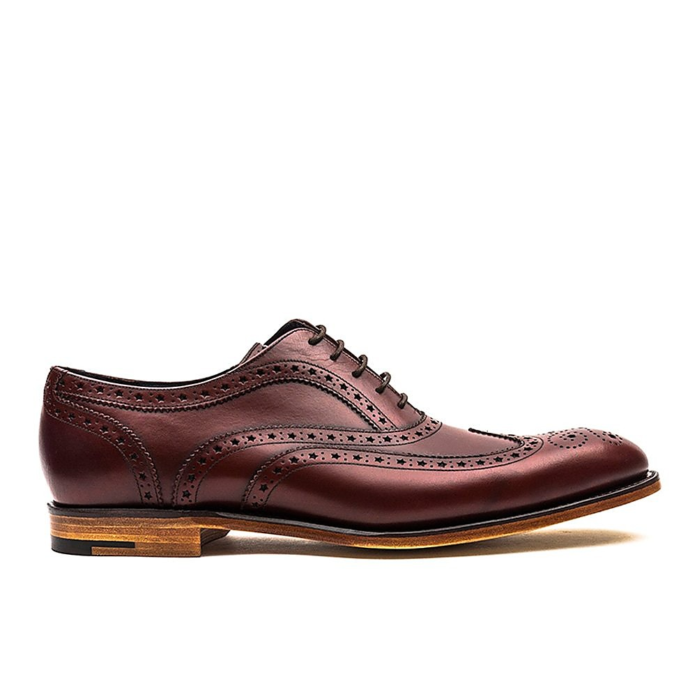 Barker Jensen - Mens - Cherry Calf/Brown