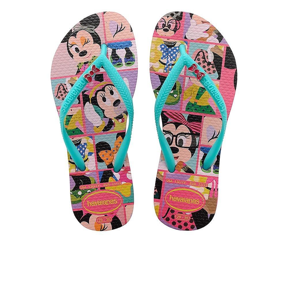 Havaianas Slim Disney Cool - Juniors - Shocking