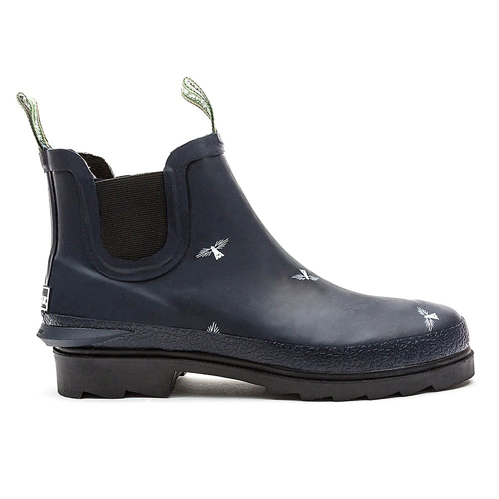 Barbour Chelsea Welly  - Womens - Navy