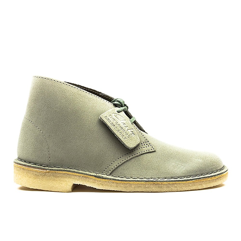Clarks Desert Boot - Womens - Pale Green