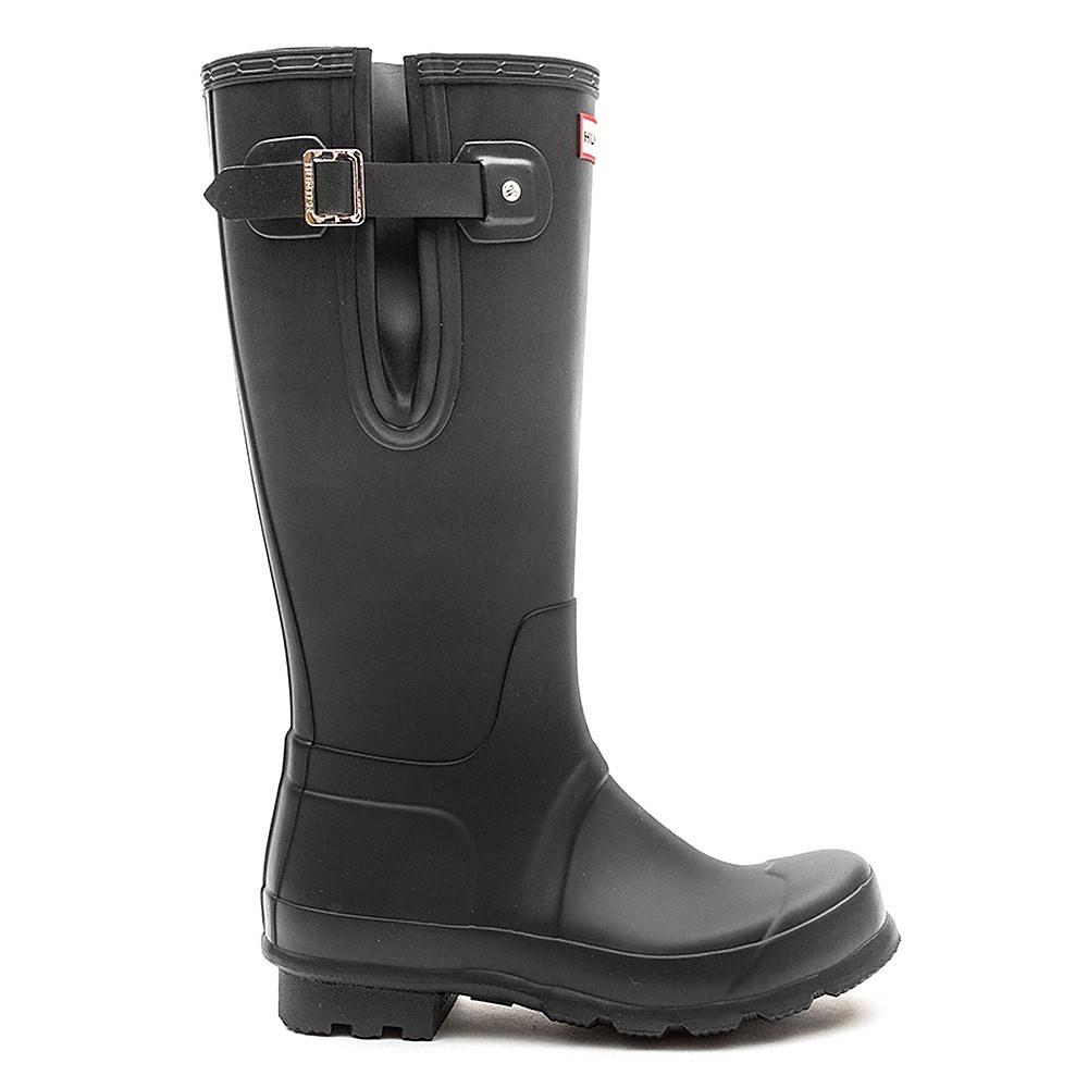 Hunter Wellies Mens Original Side Adjustable - Black