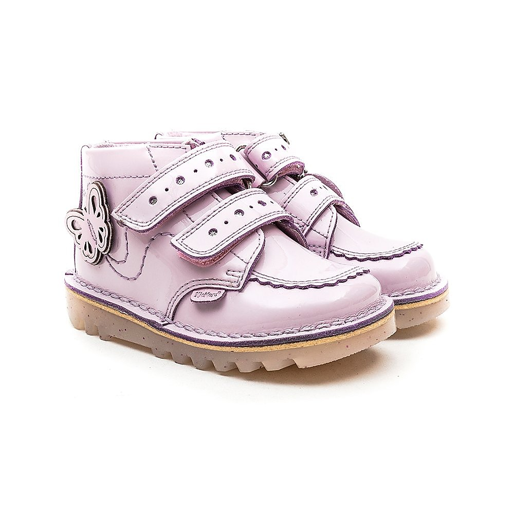 Kickers Kick Hi Fi - Light Purple