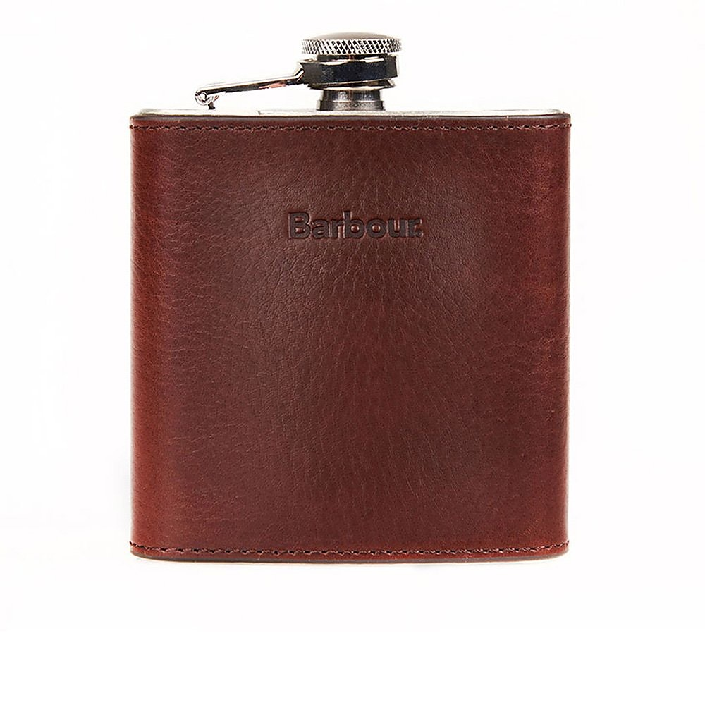 Barbour Hipflask Gift Box