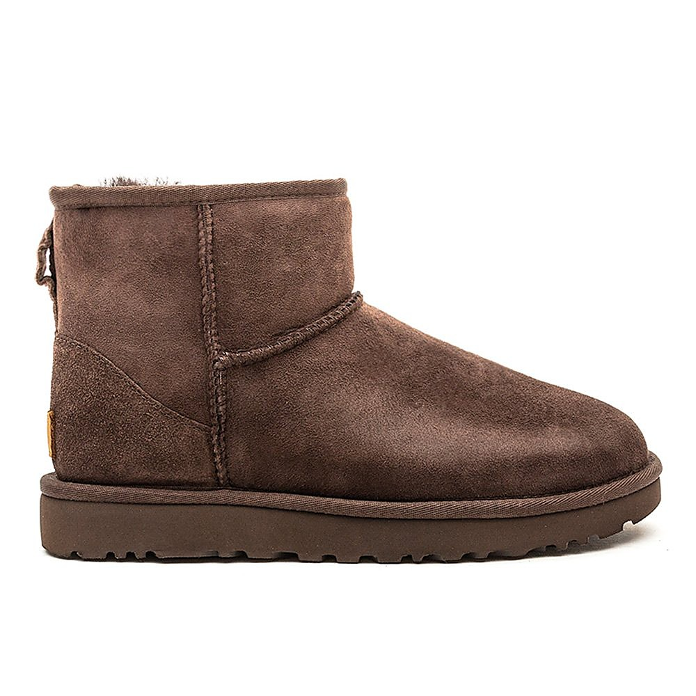 UGG Women's Classic Mini II Sheepskin Boots - Chocolate