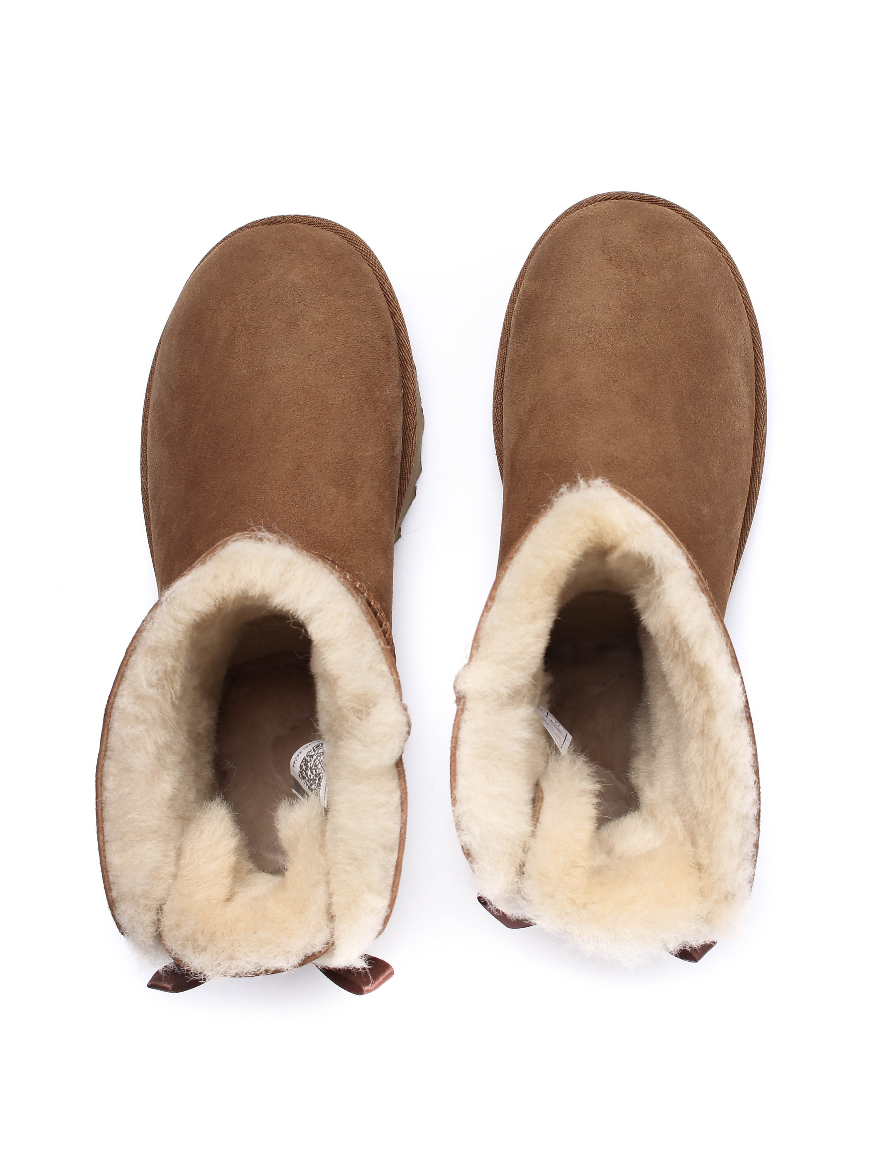 Ugg Women's Bailey Bow II Sheepskin Boots - Chestnut