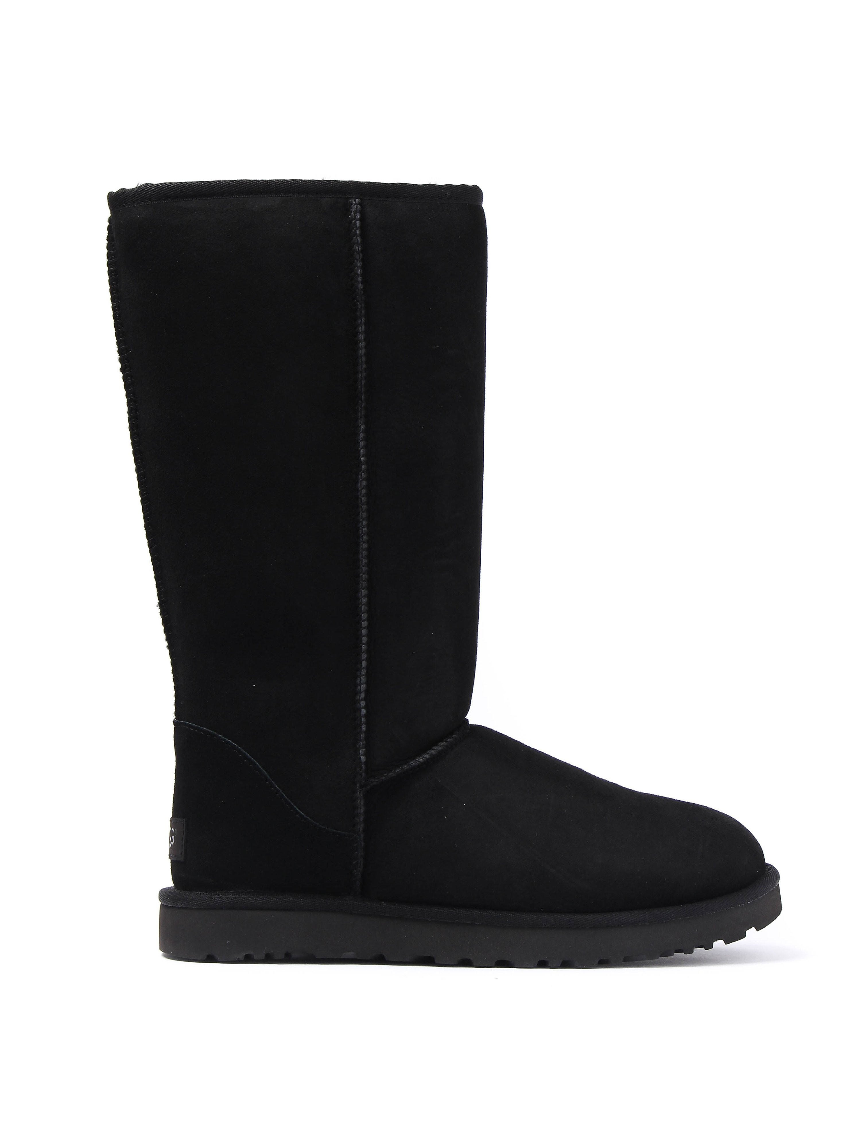 UGG Women's Classic Tall II Sheepskin Boots - Black