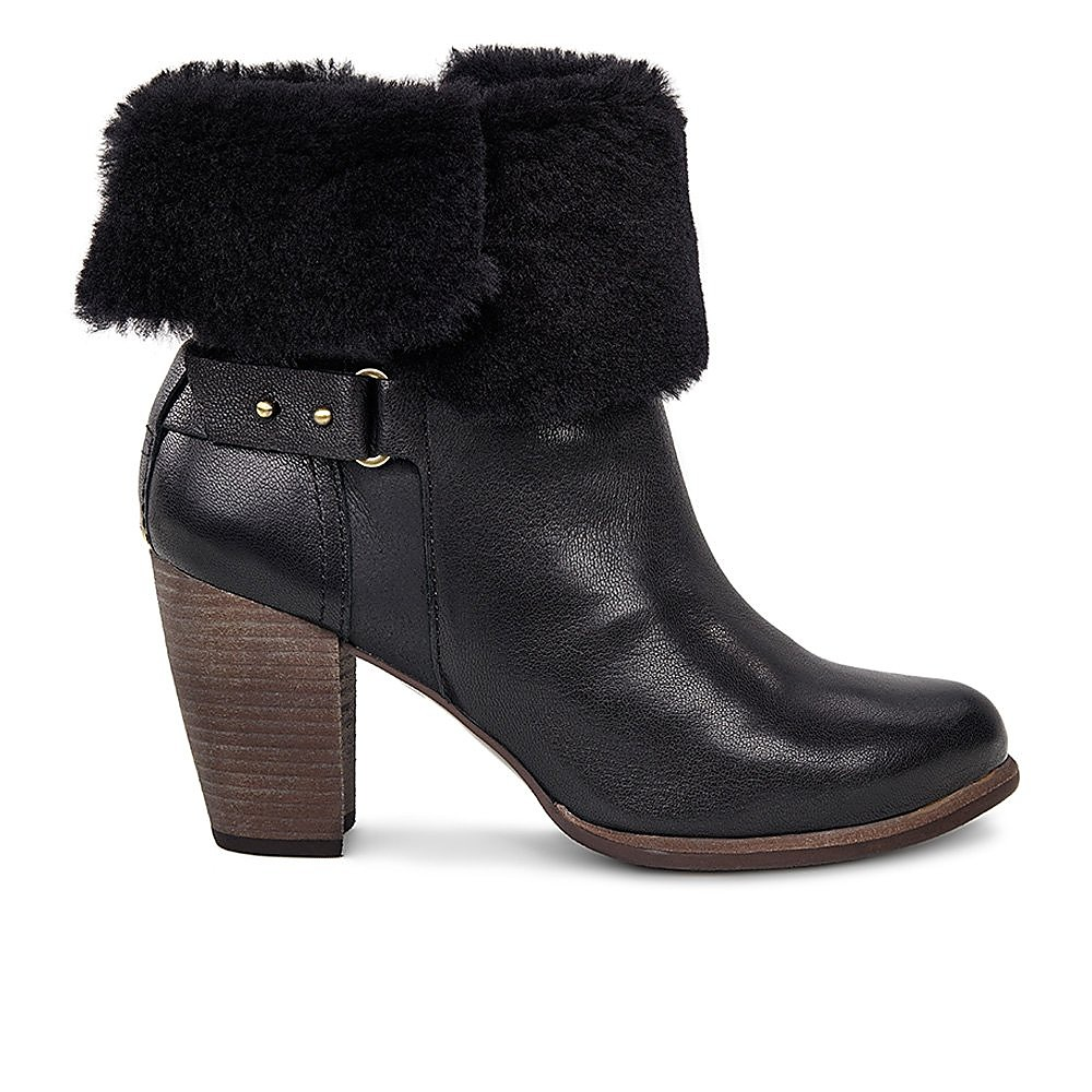 Ugg Womens Jayne - Black Leather