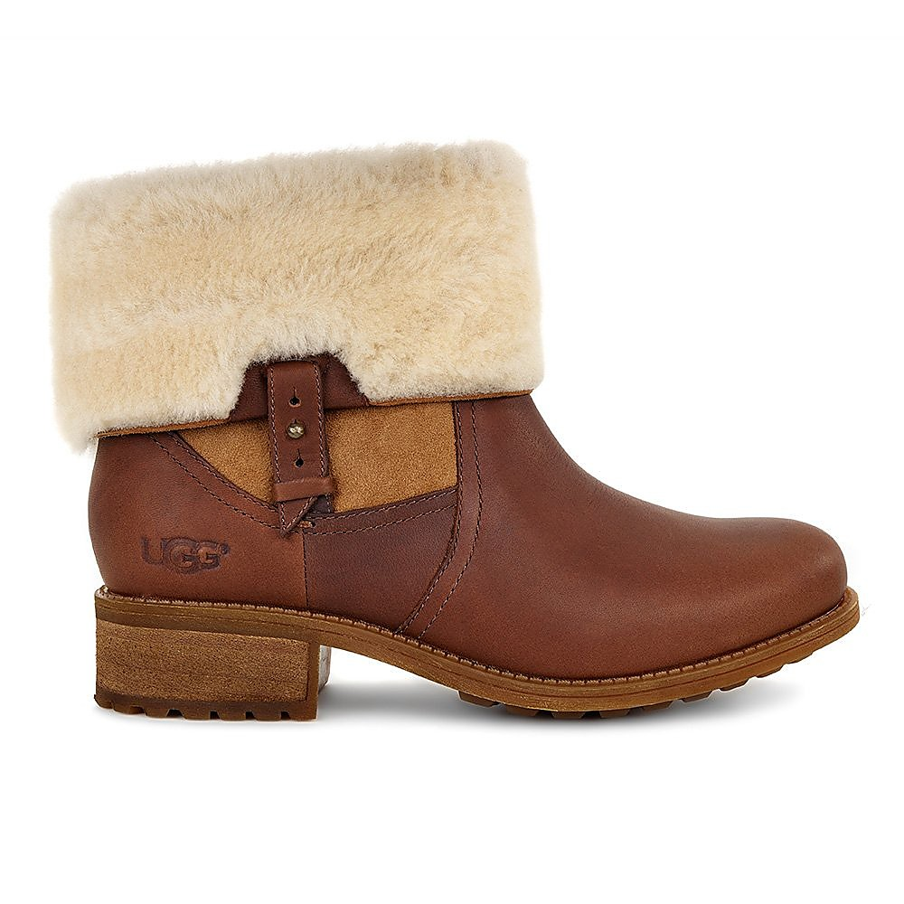 UGG Australia Womens Chyler - Tan Leather