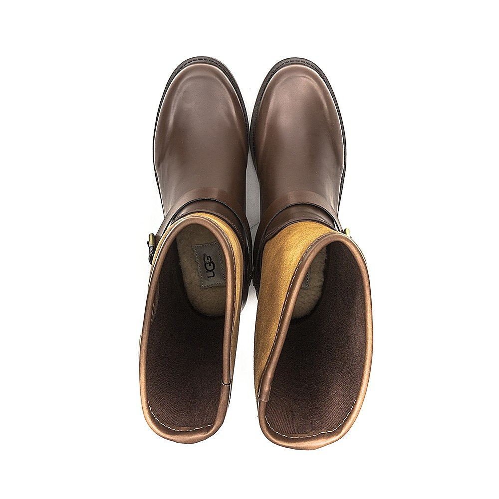 UGG Australia Womens Sivada - Brown Rubber