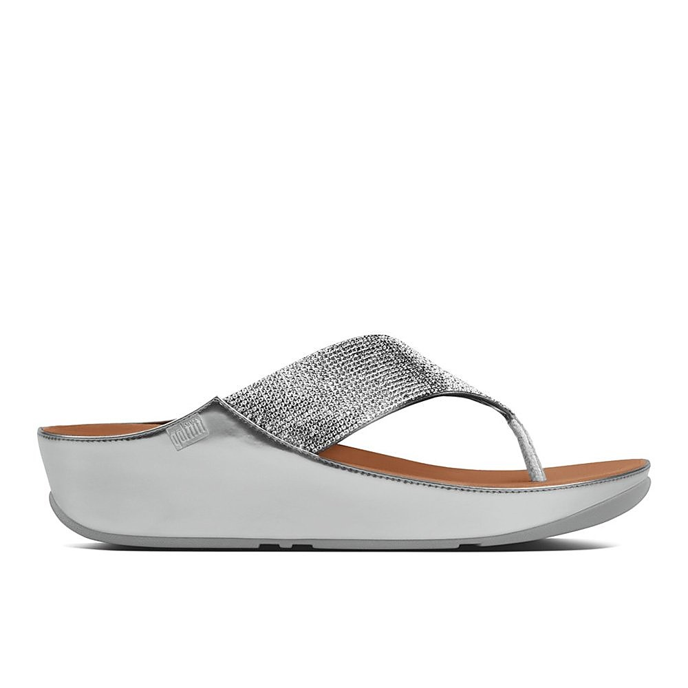 FitFlop Womens Crystall™ Shoe - Silver