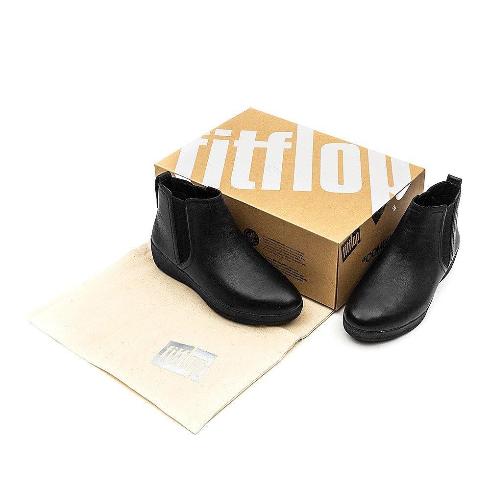 FitFlop Superchelsea Boot  - Black