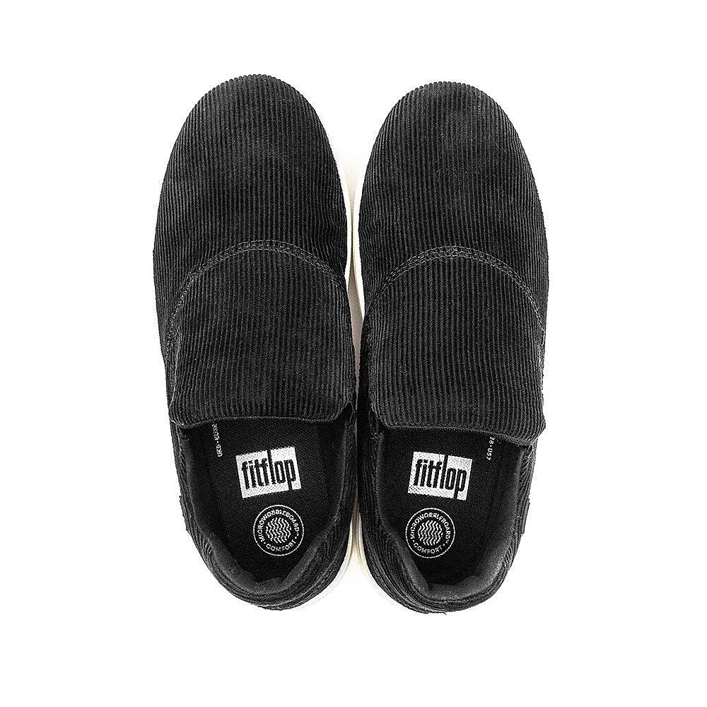 FitFlop Loaff Sporty Slip-On Sneaker - Black