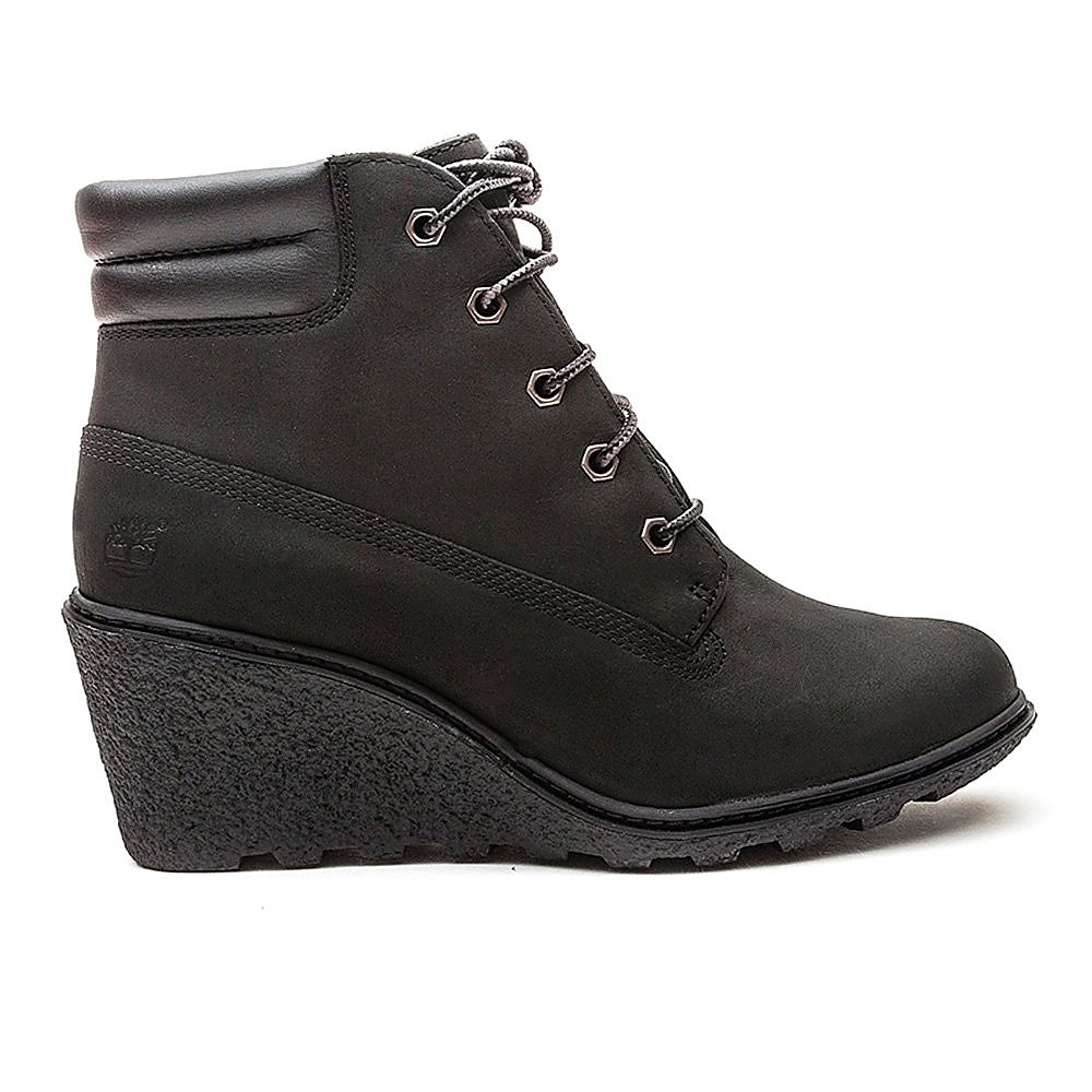 Timberland Womens Amston 6 Inch - Black Nubuck