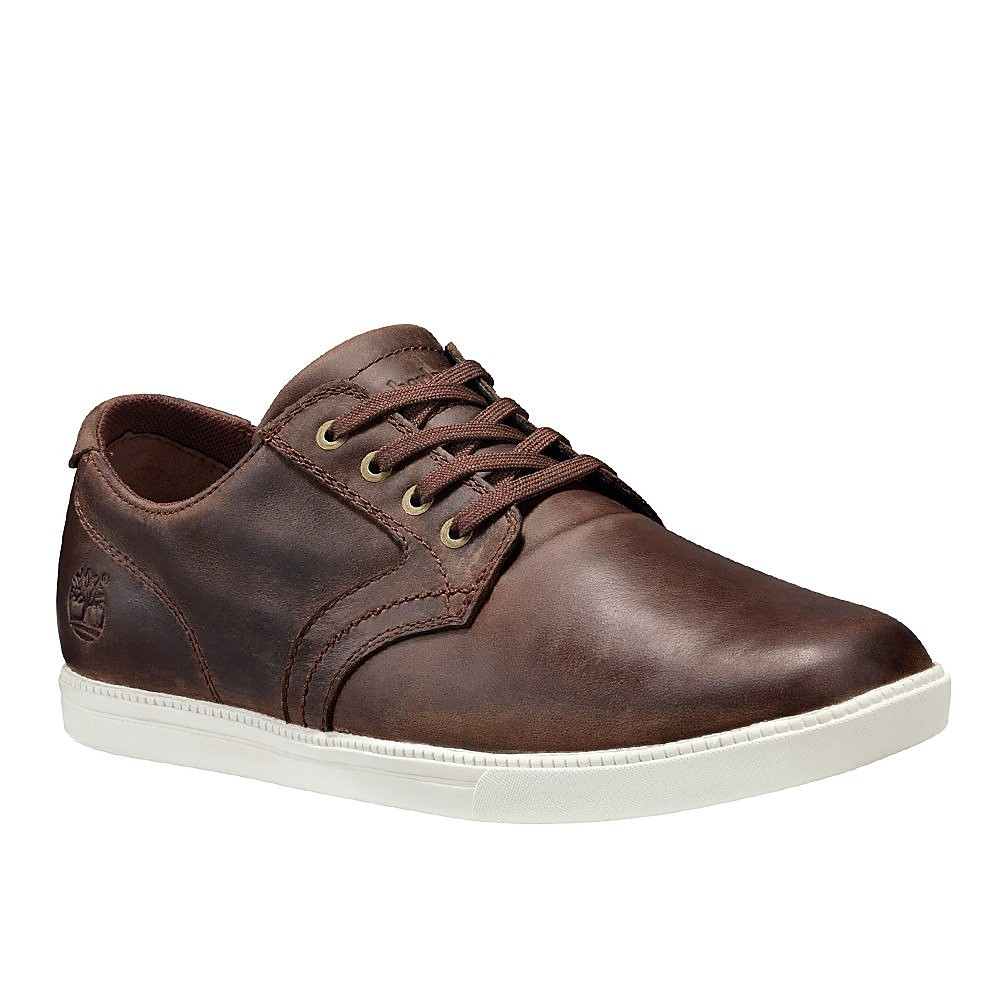 Timberland Mens Fulk LP Oxford - Gaucho Leather