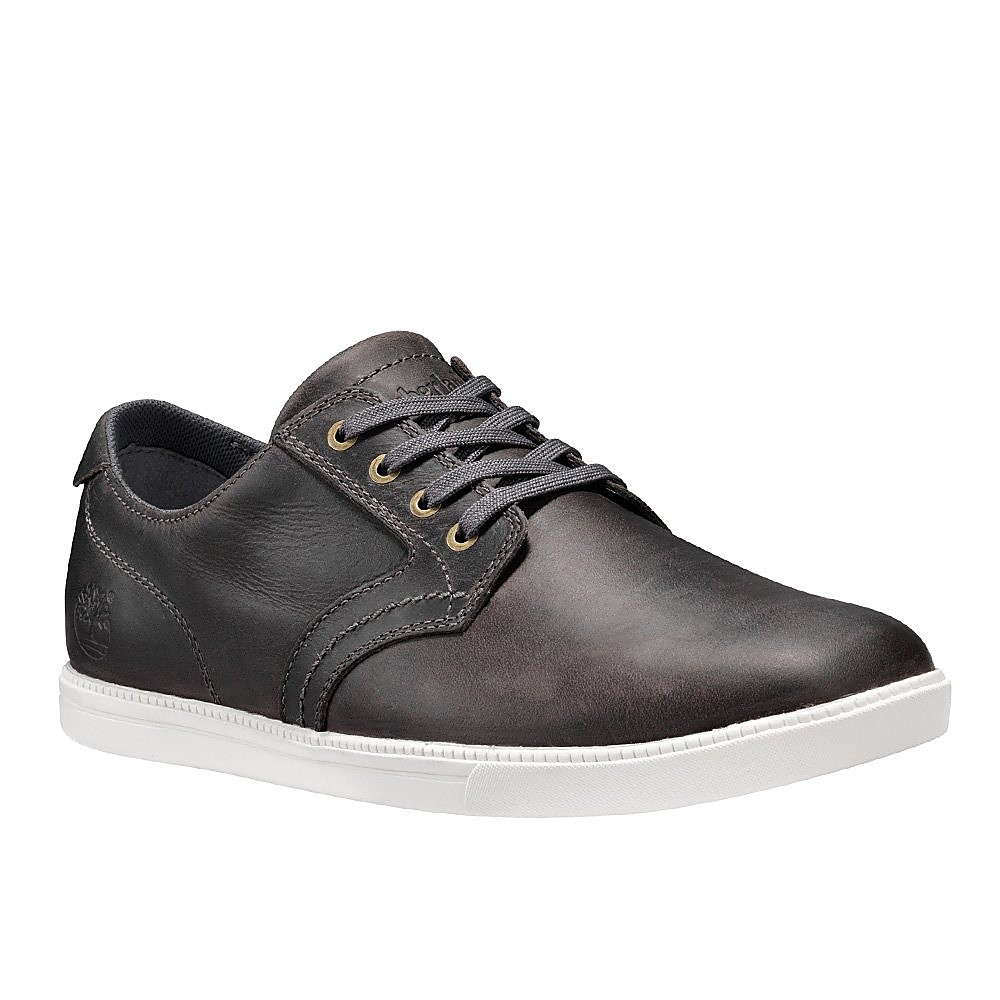 Timberland Mens Fulk LP Oxford - Pewter Leather