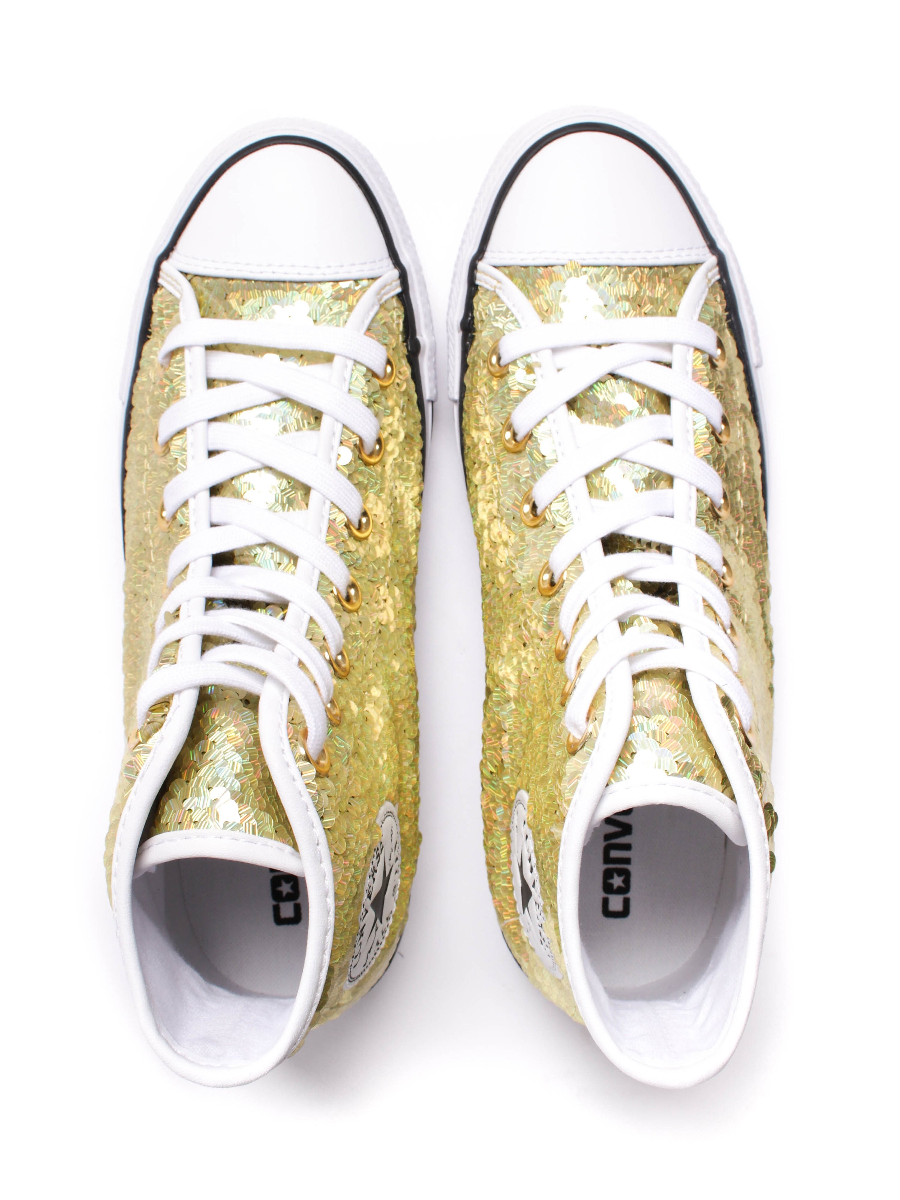 Converse All Star High Top - Gold
