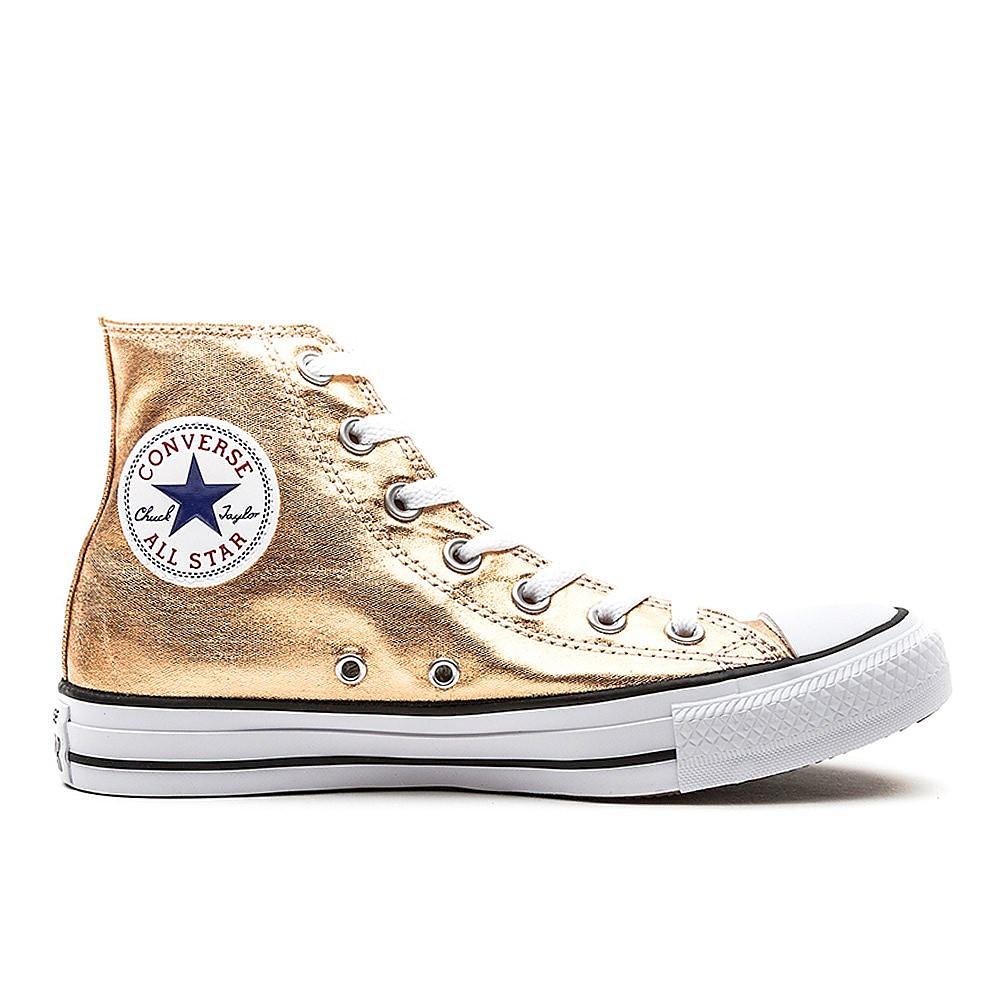 Converse Womens Chuck Taylor All Star High Top - Metallic Sunset Glow