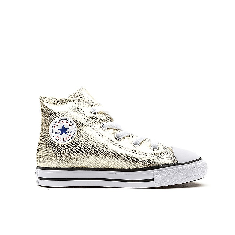 Converse Infant Chuck Taylor All Star High Top - Light Gold
