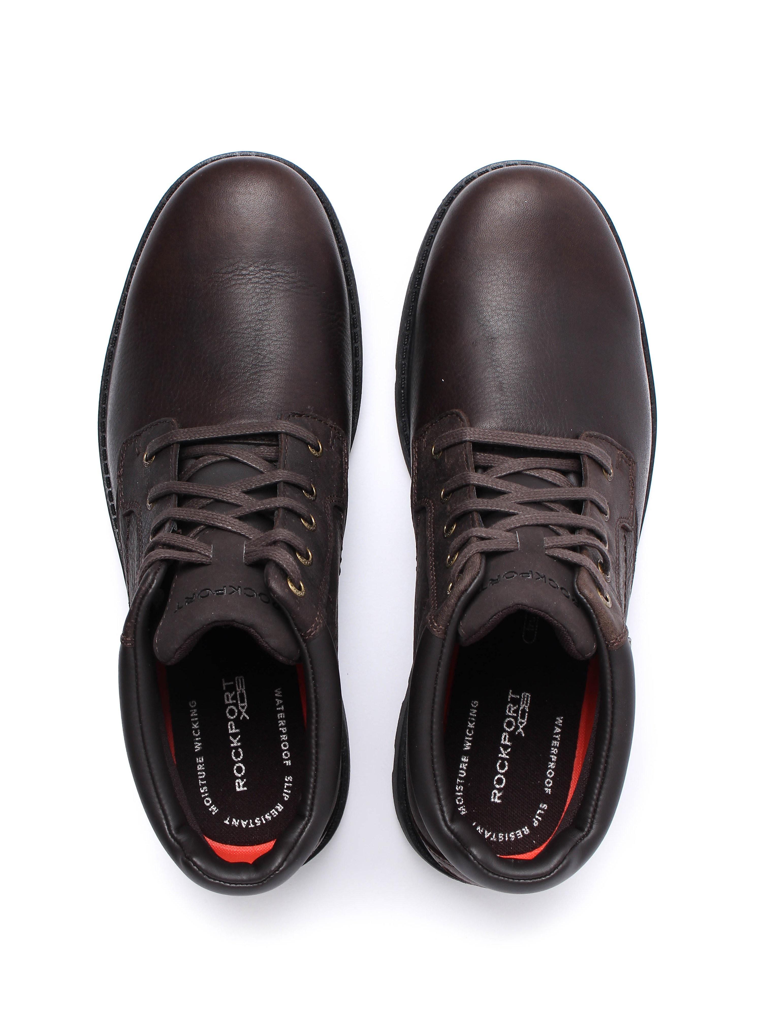 Rockport Rugged Bucus Waterproof Boot - Dark Brown