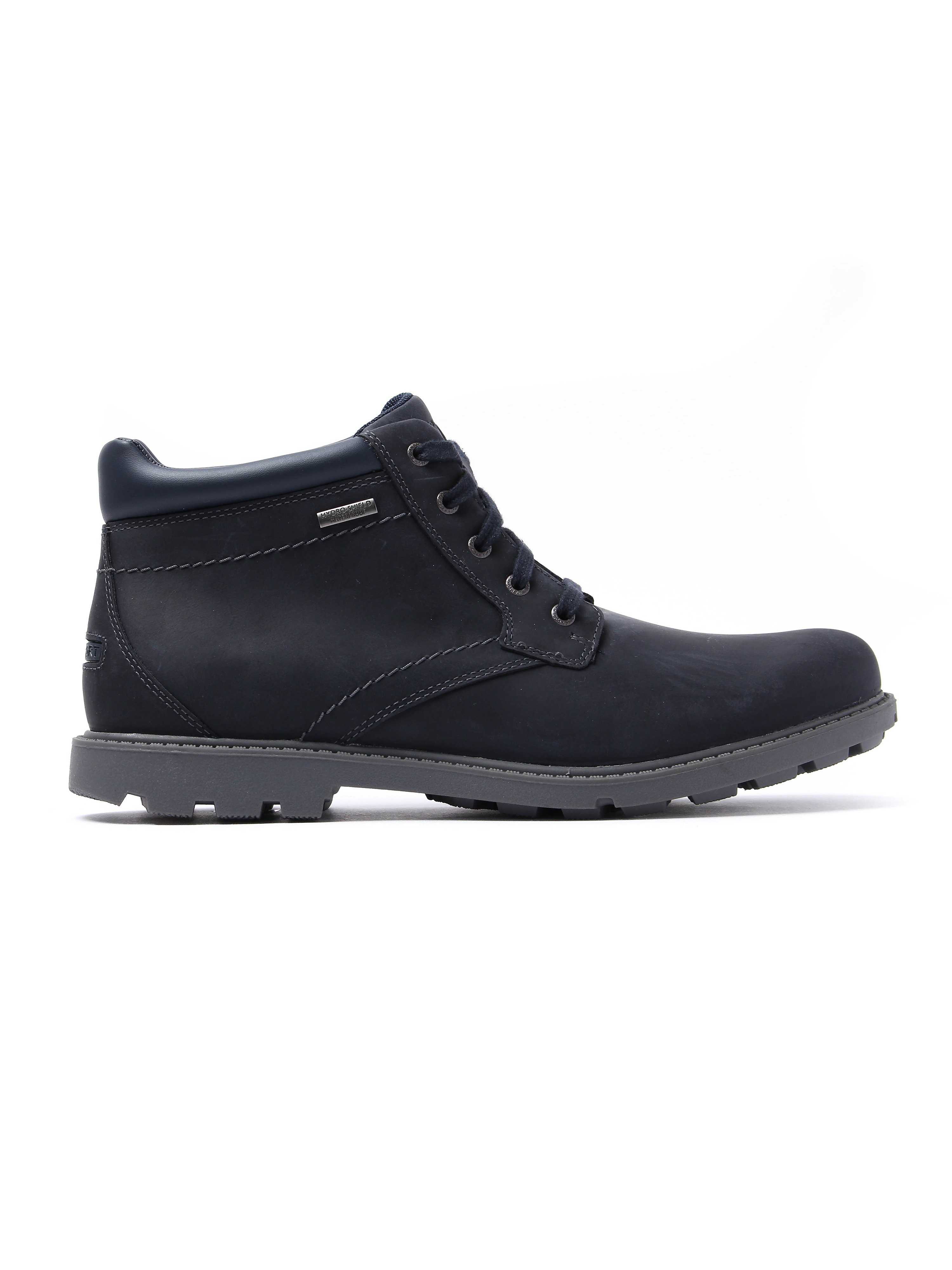 Rockport Rugged Bucus Waterproof Boot - New Dress Blues