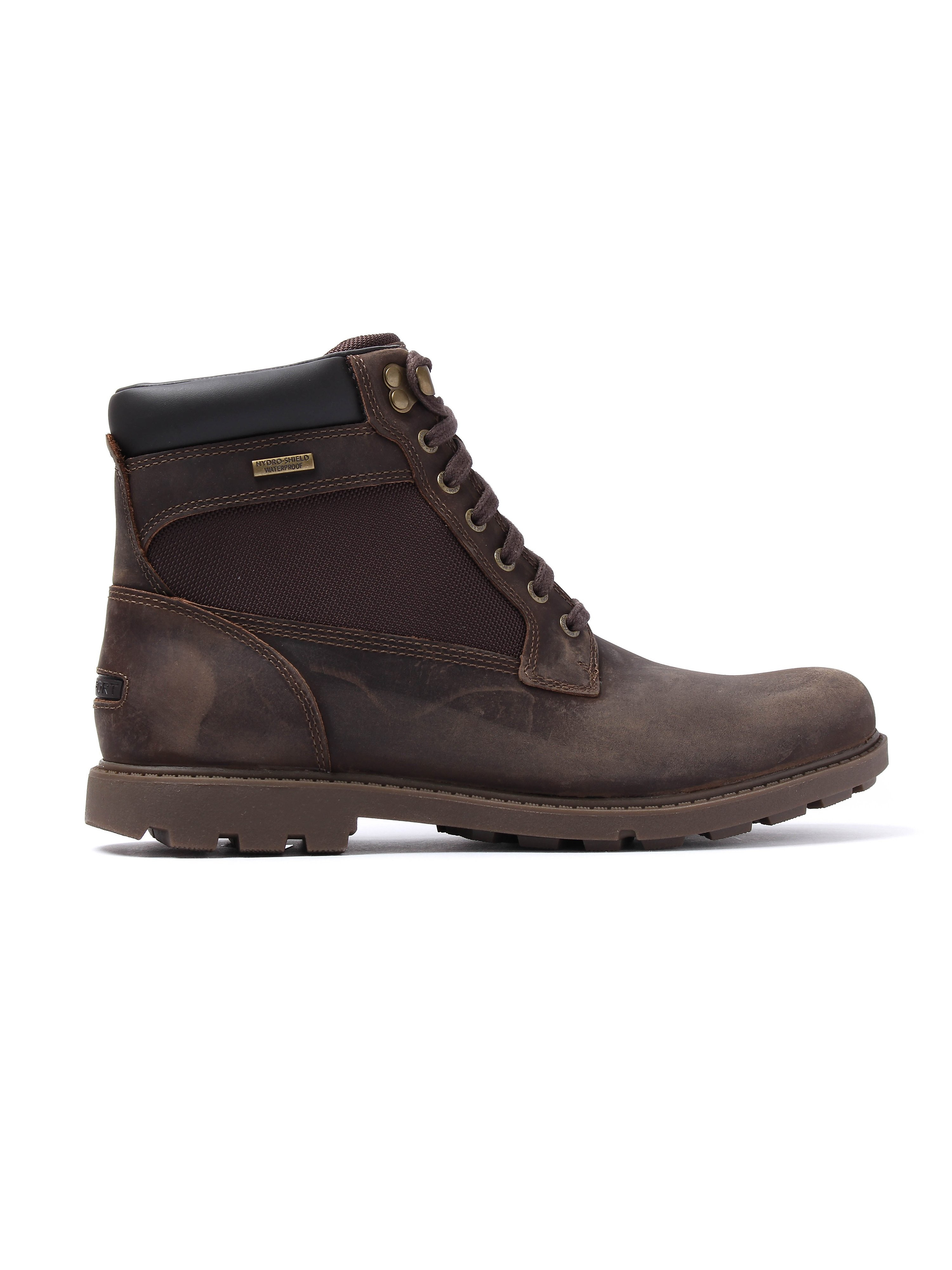 Rockport Rugged Bucus WP High Boot - Dark Brown