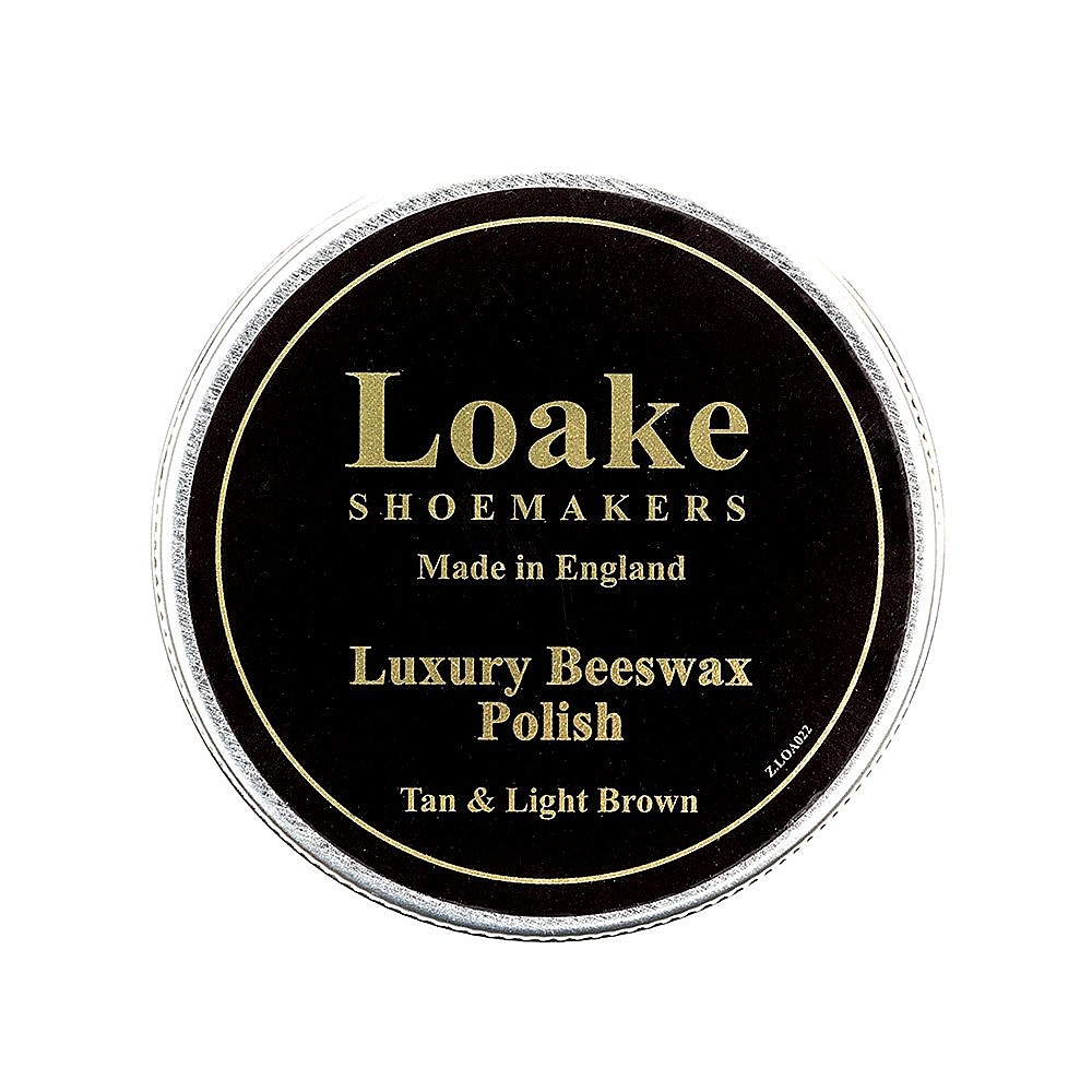 Loake Beeswax Polish - Tan/Light Brown