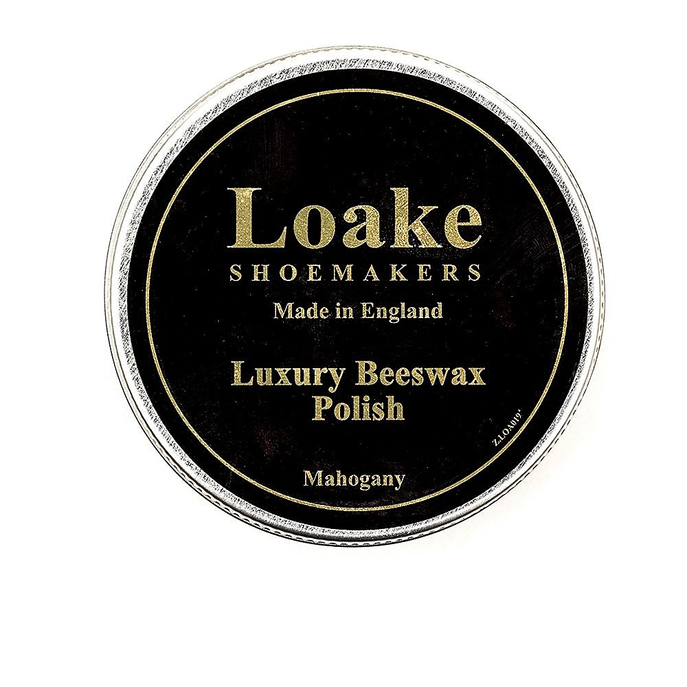 Loake Beeswax Polish 100ml - Mahogany Calf