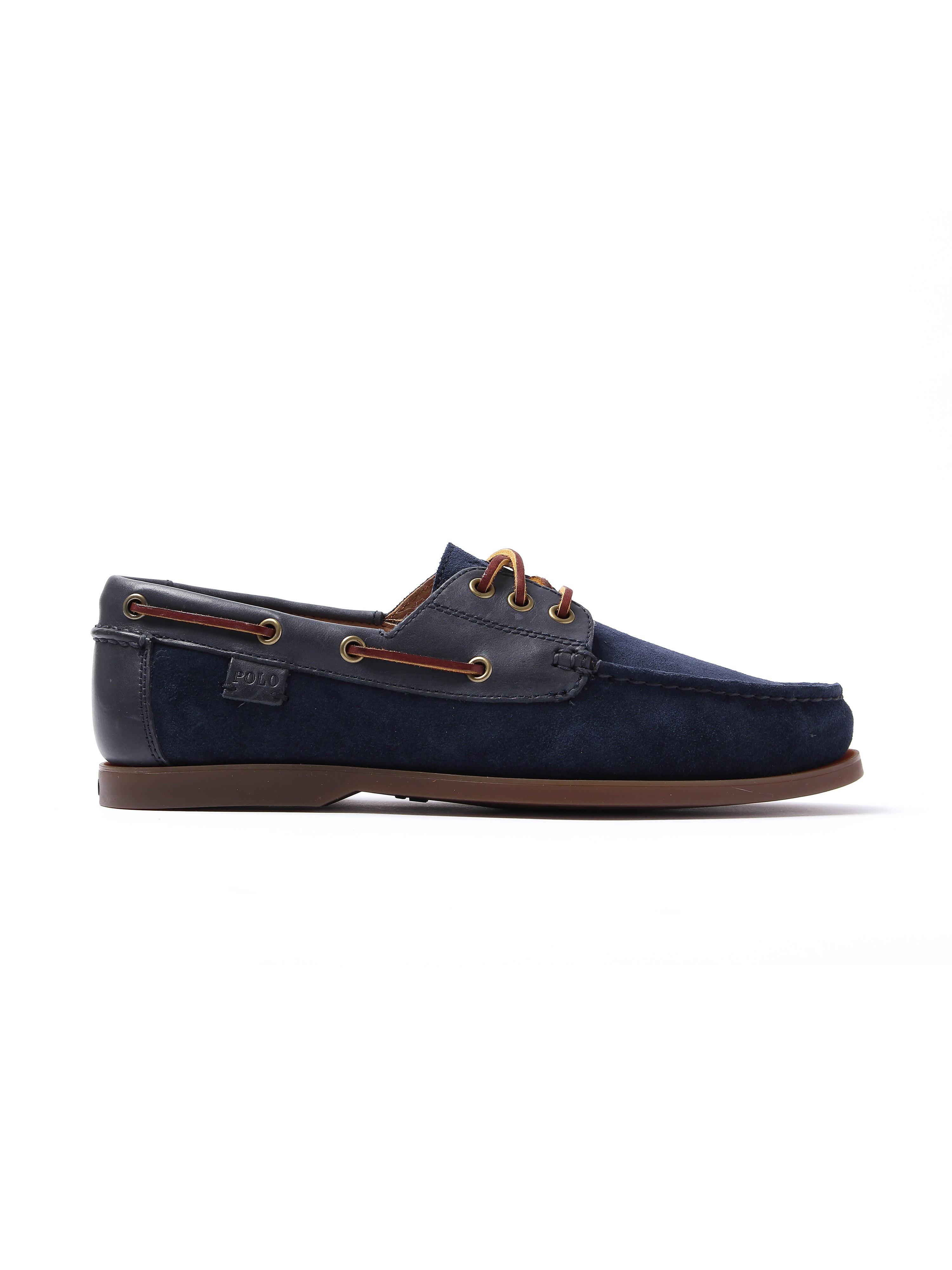 Polo Ralph Lauren Mens Bienne II Shoe - Newport Navy