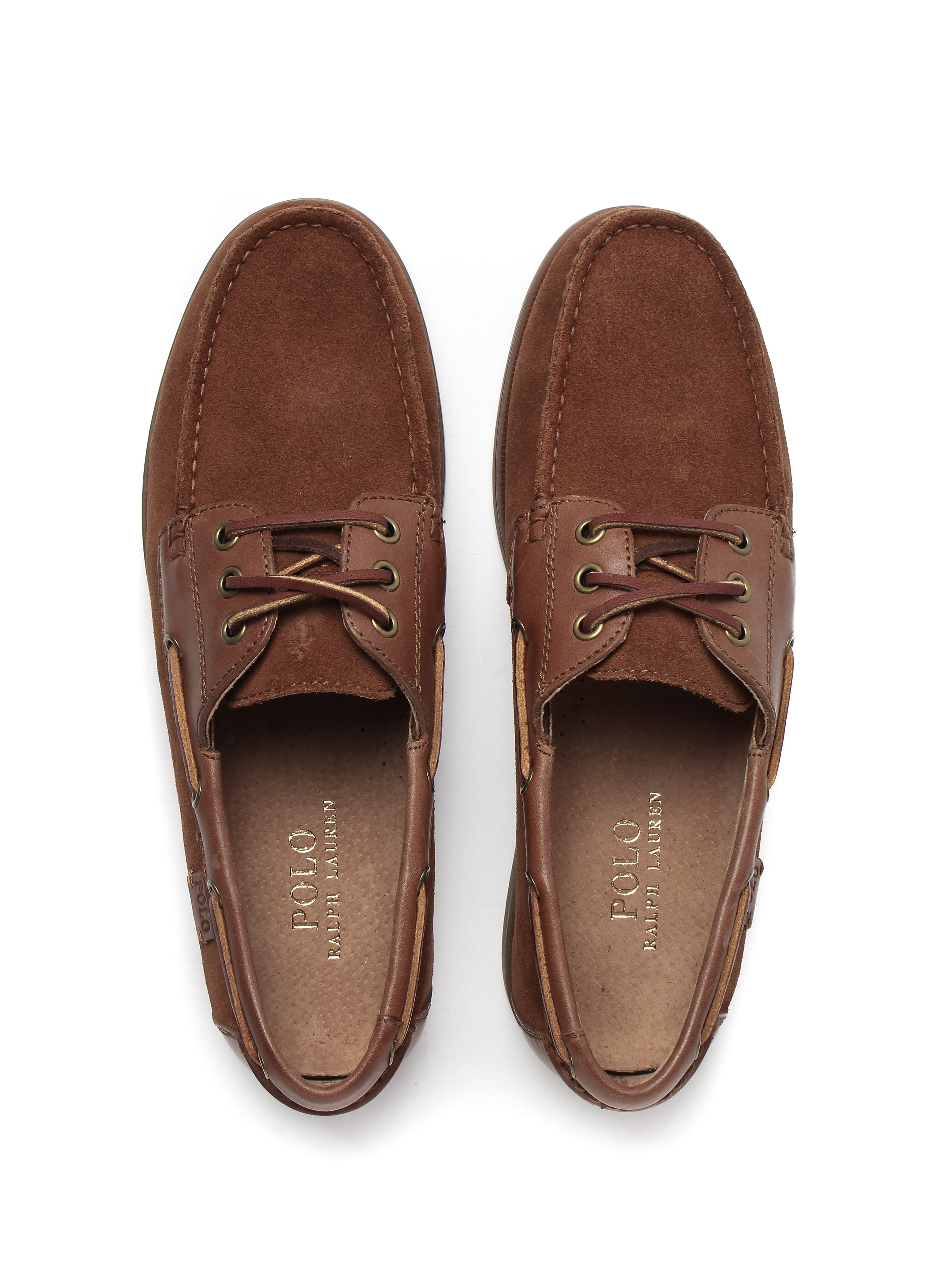 Polo Ralph Lauren Mens Bienne II Shoe - Polo Tan