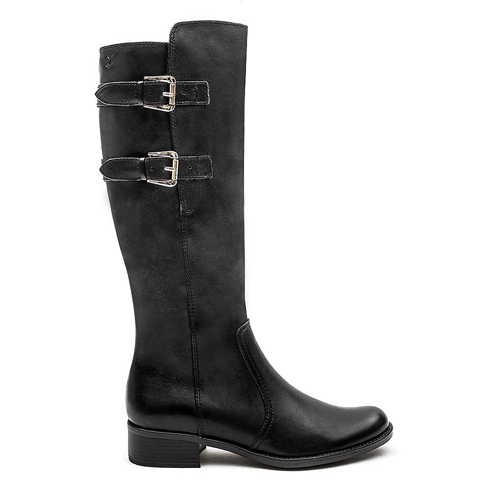 Caprice Buckle Boot - Black