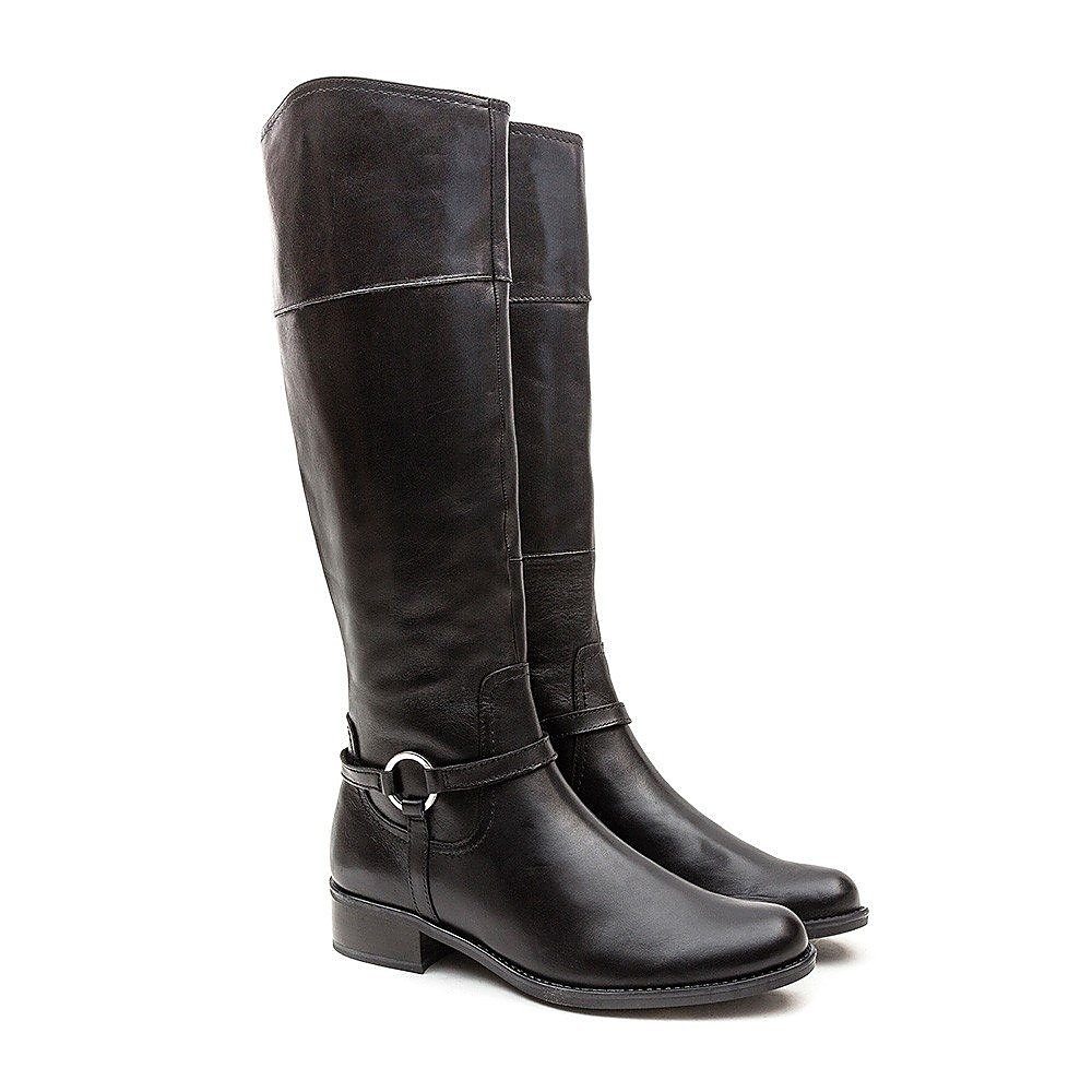 Caprice Stirrup Boot - Black