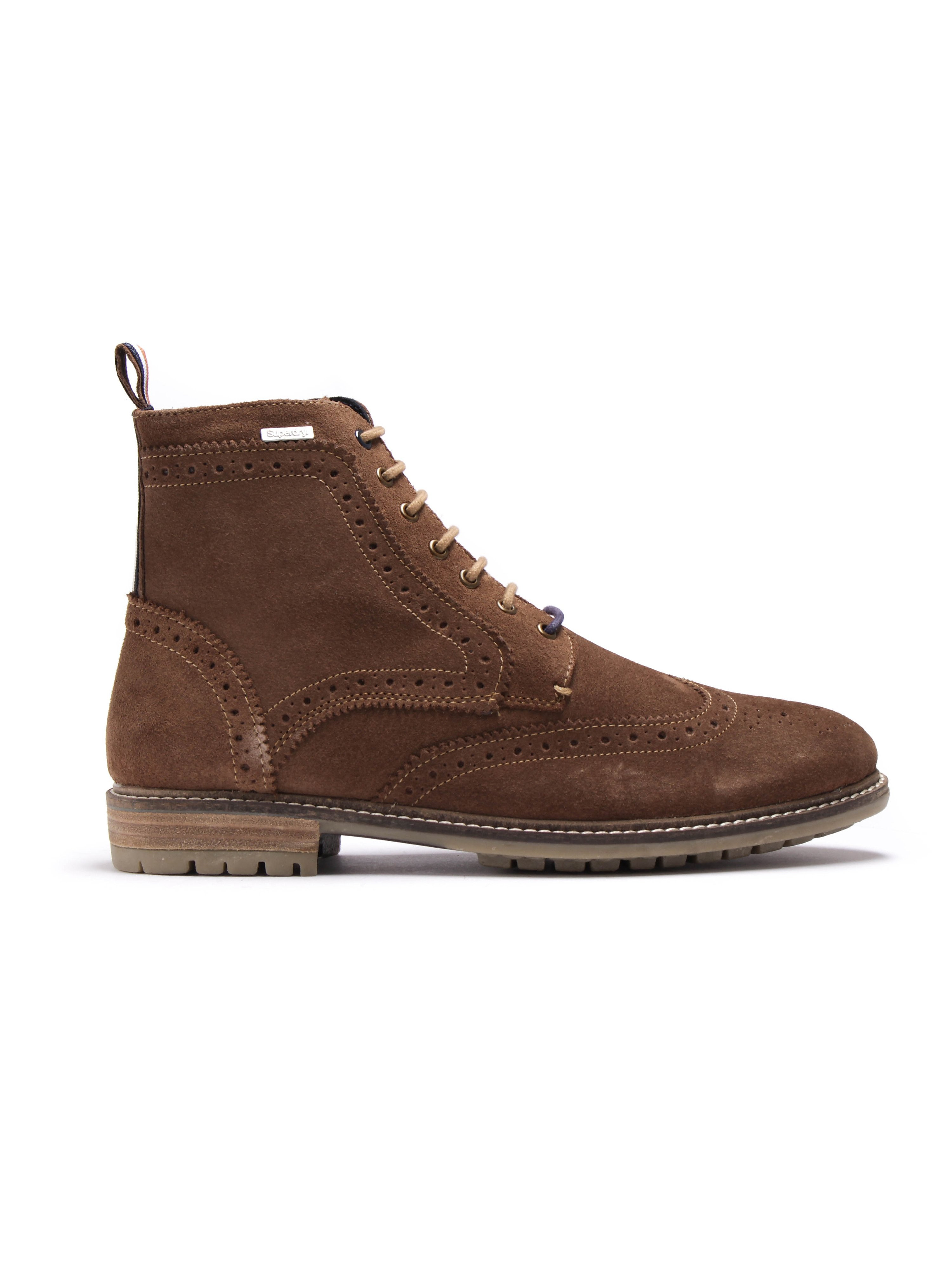 Superdry Brad Brogue Stamford Boot