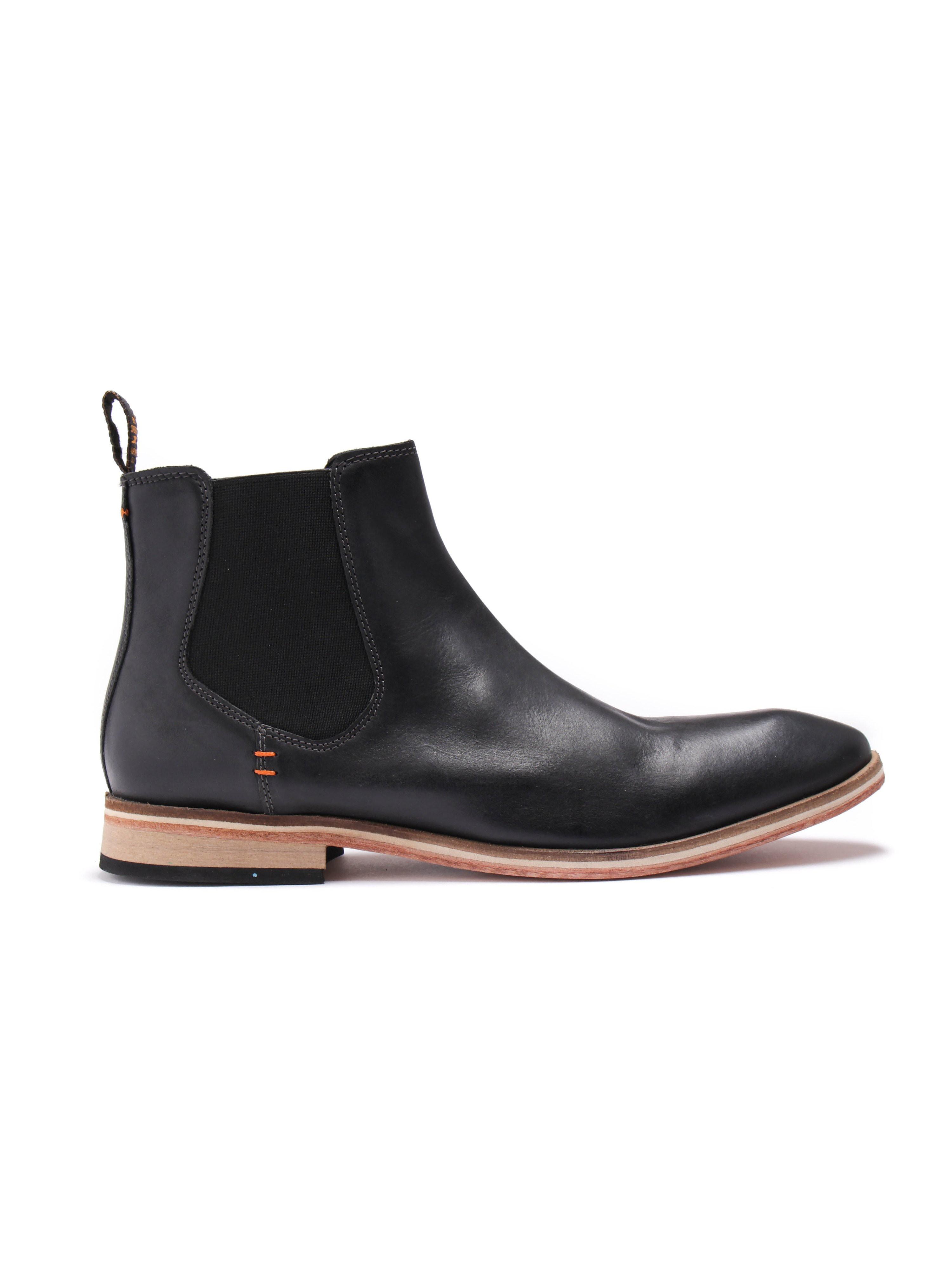Superdry Premium Meteor Chelsea Boot - Black