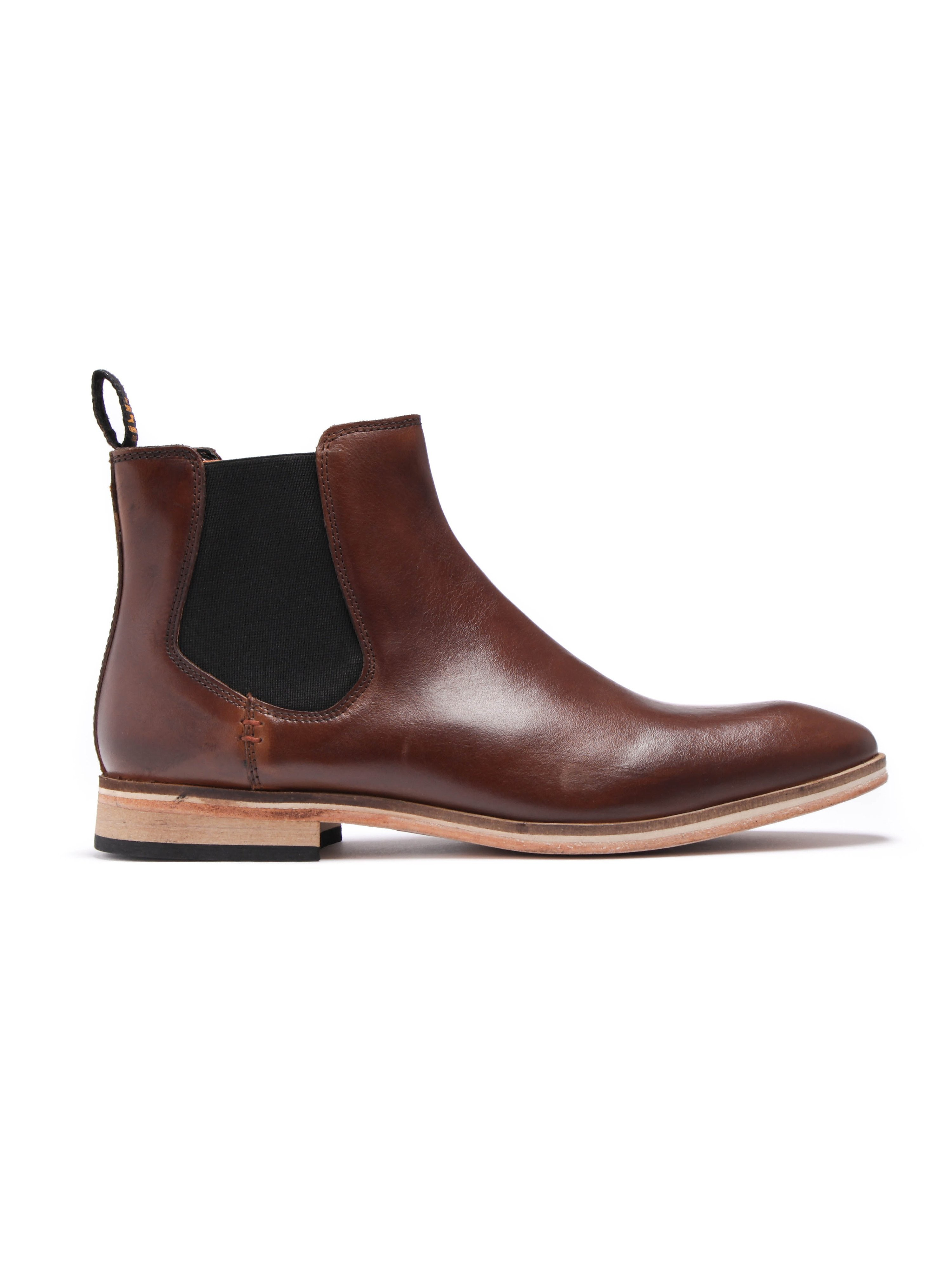 Superdry Premium Meteor Chelsea Boot - Brown