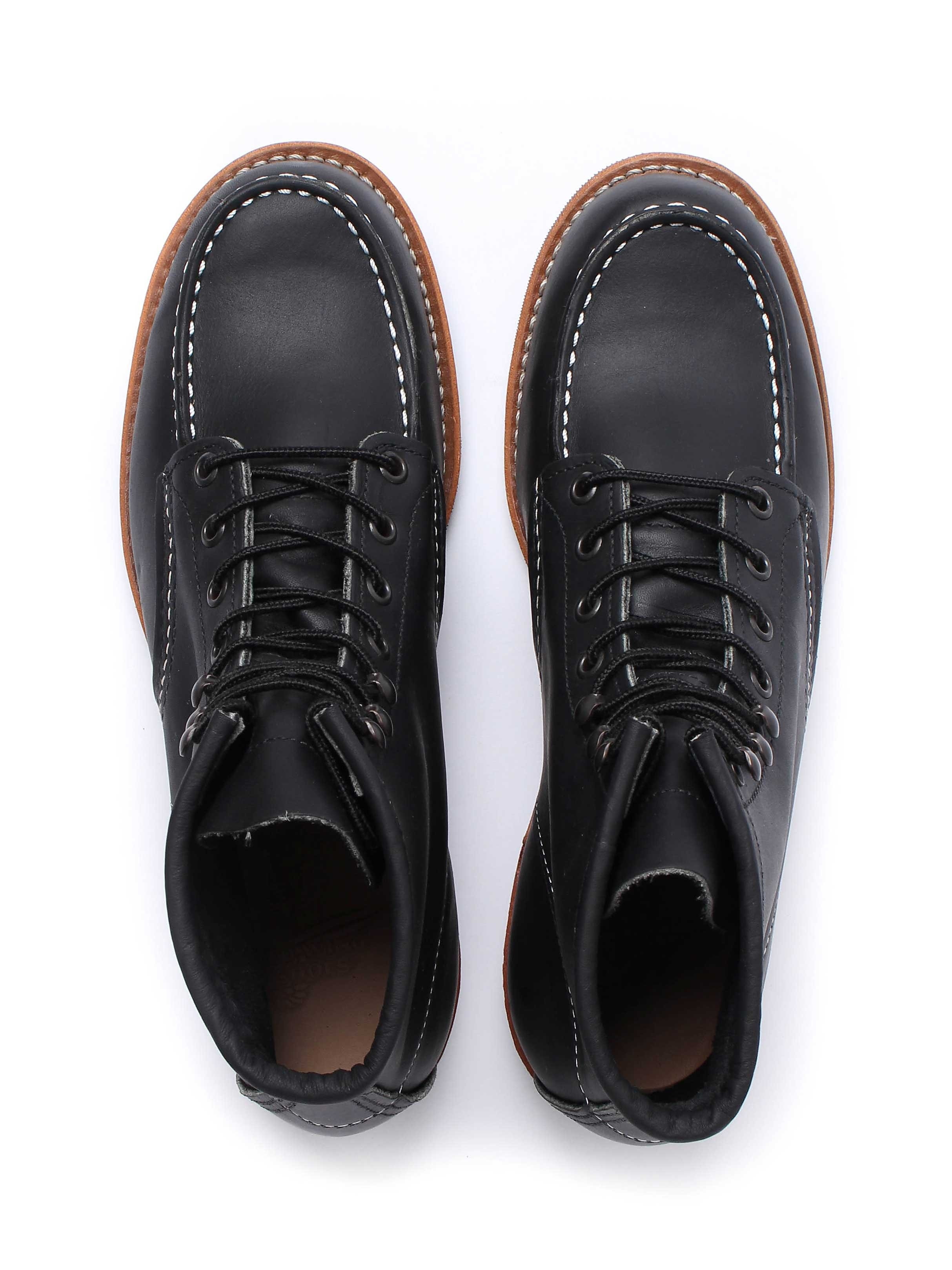 Red Wing Cooper Moc  - Black