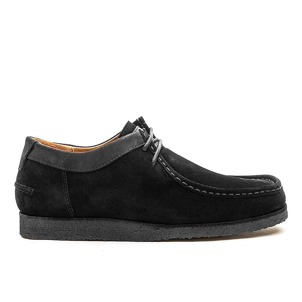 Hush Puppies Davenport Low Shoes - Black