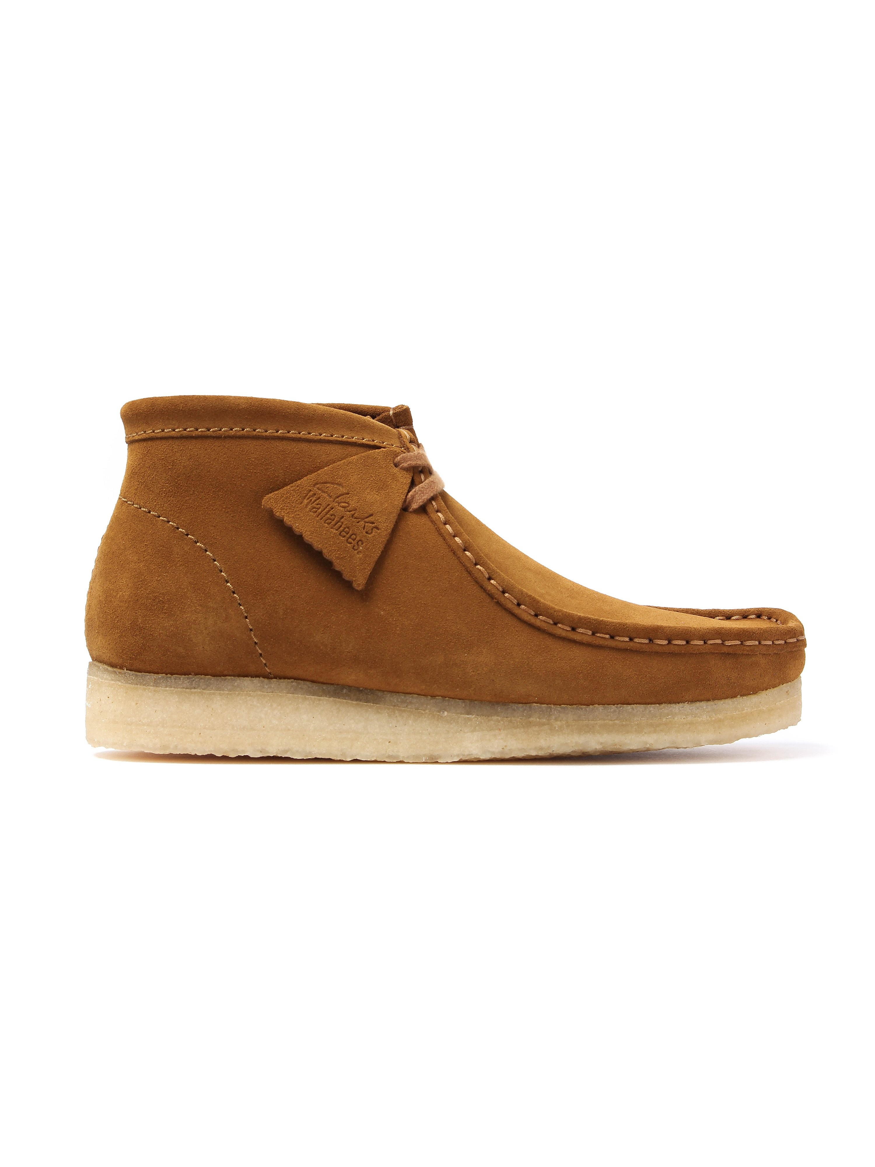 Clarks Originals Wallabee Mens Boot - Bronze Suede