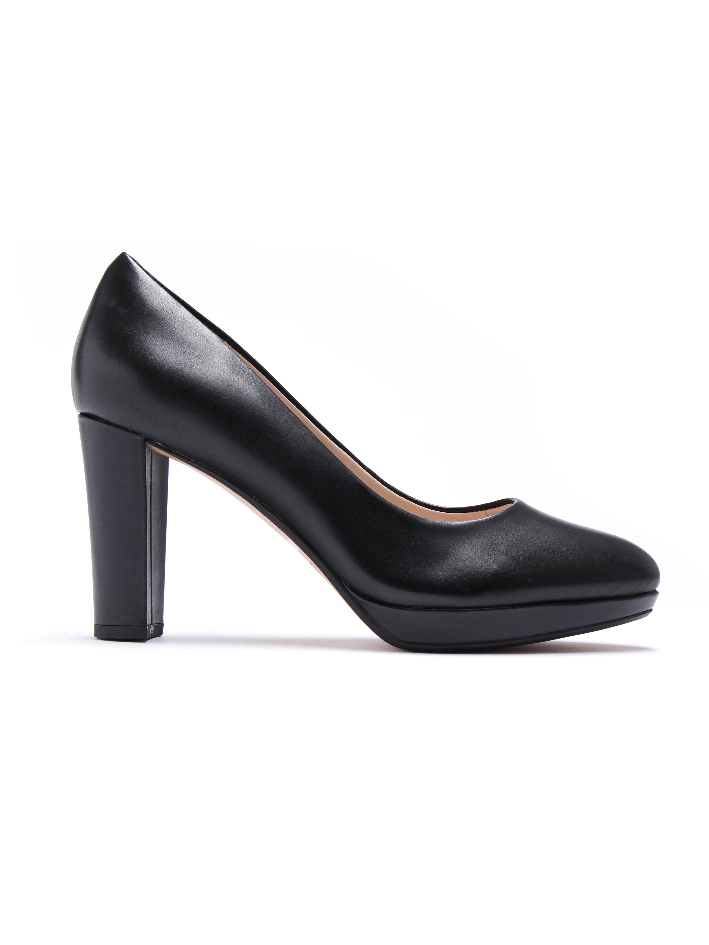 Clarks Women's Kendra Sienna Patent Leather Court Heel