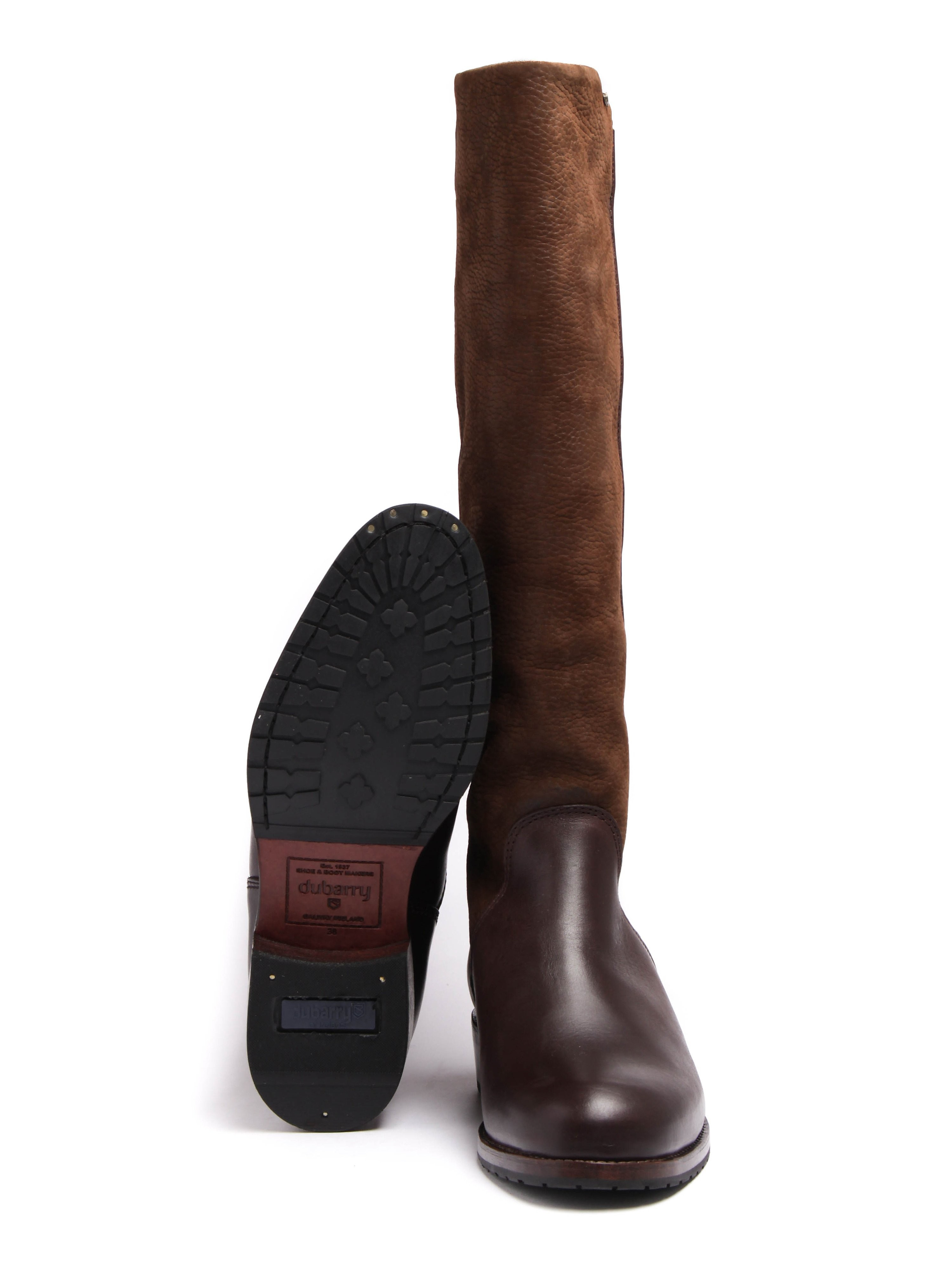 Dubarry Women's Fermoy Leather Boots - Walnut