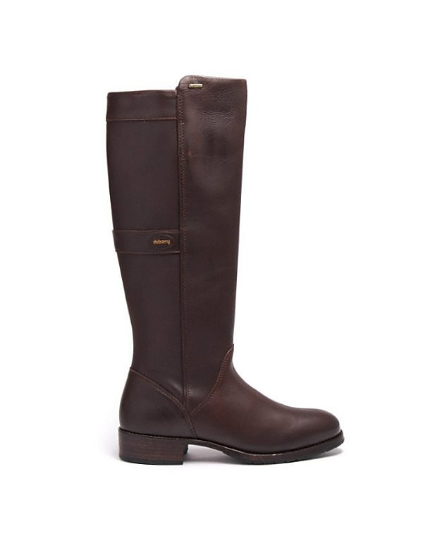 Dubarry Women's Fermoy Leather Boots - Mahogany